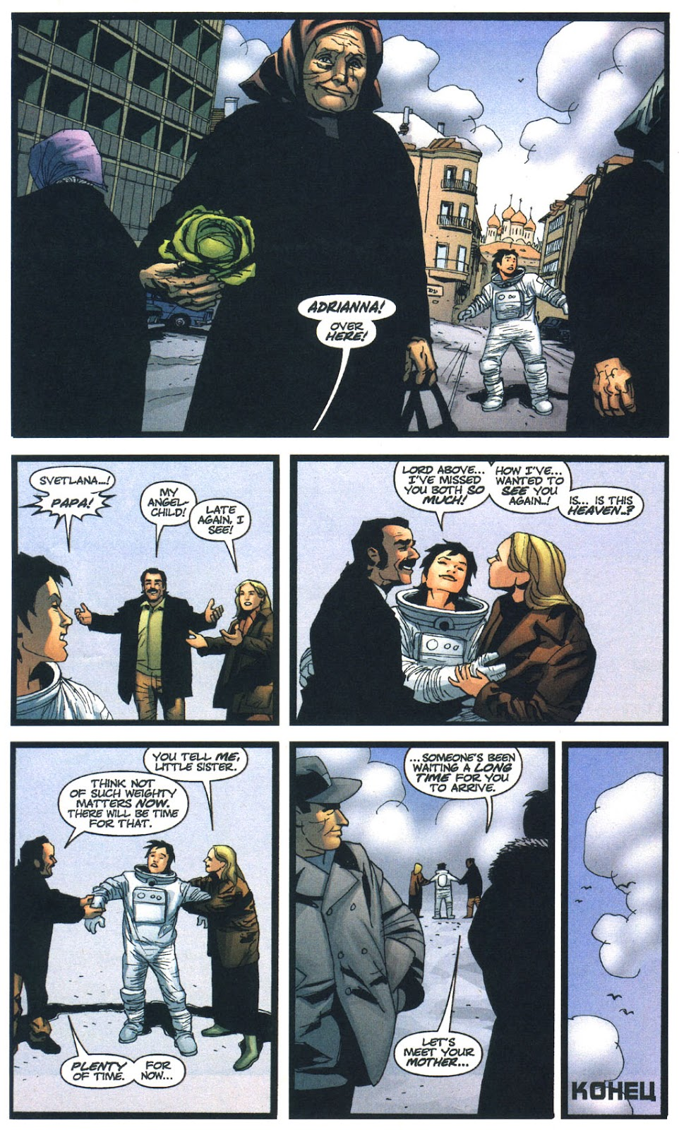 Wildcats (1999) Issue #13 #14 - English 22