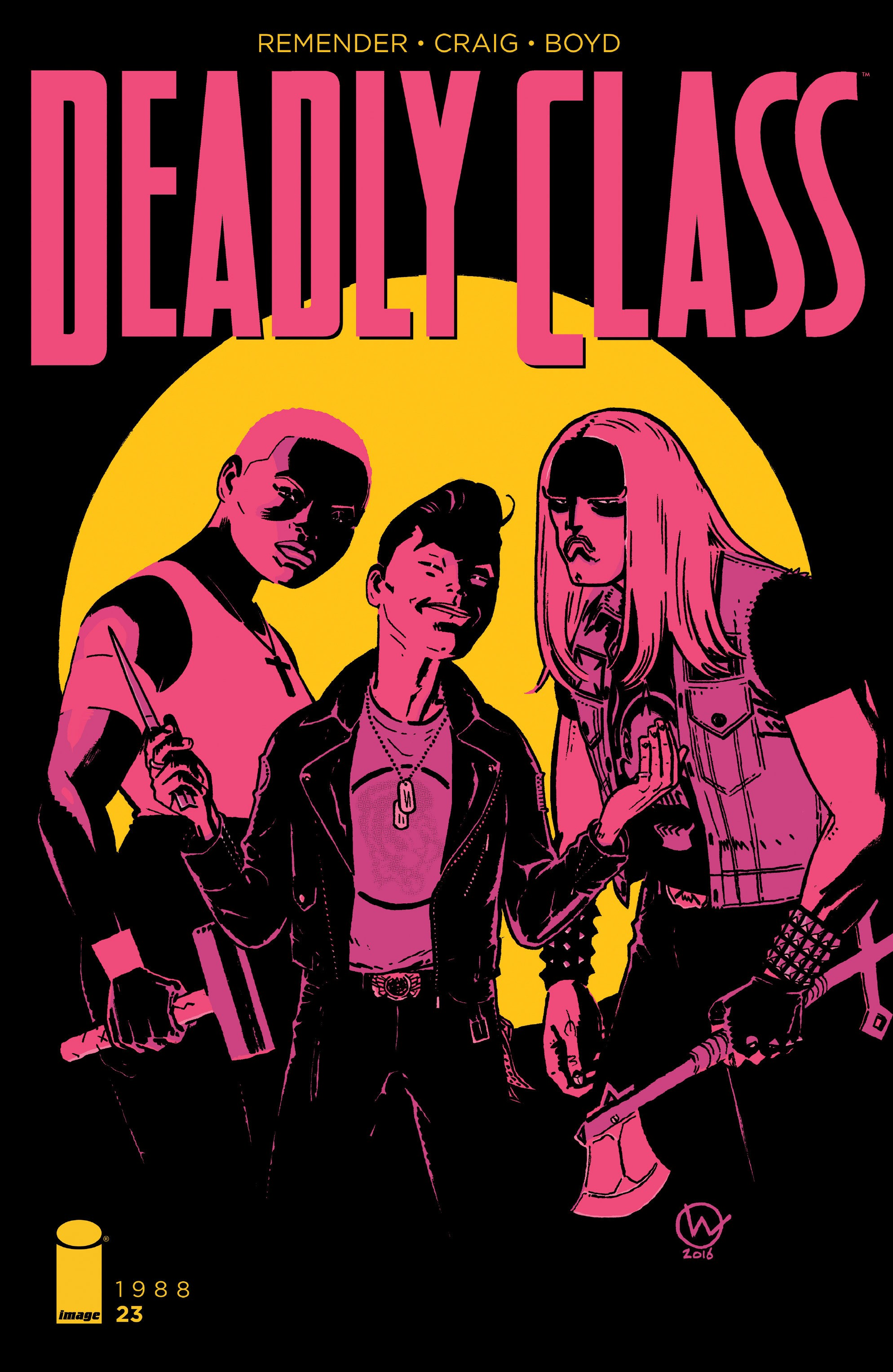 Deadly Class 23 Page 1
