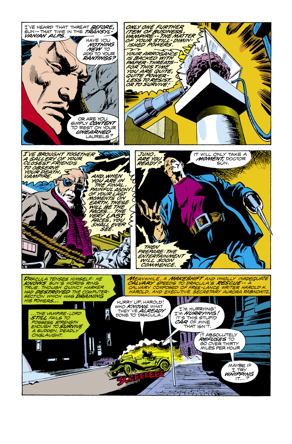 Tomb of Dracula (1972) issue 39 - Page 3