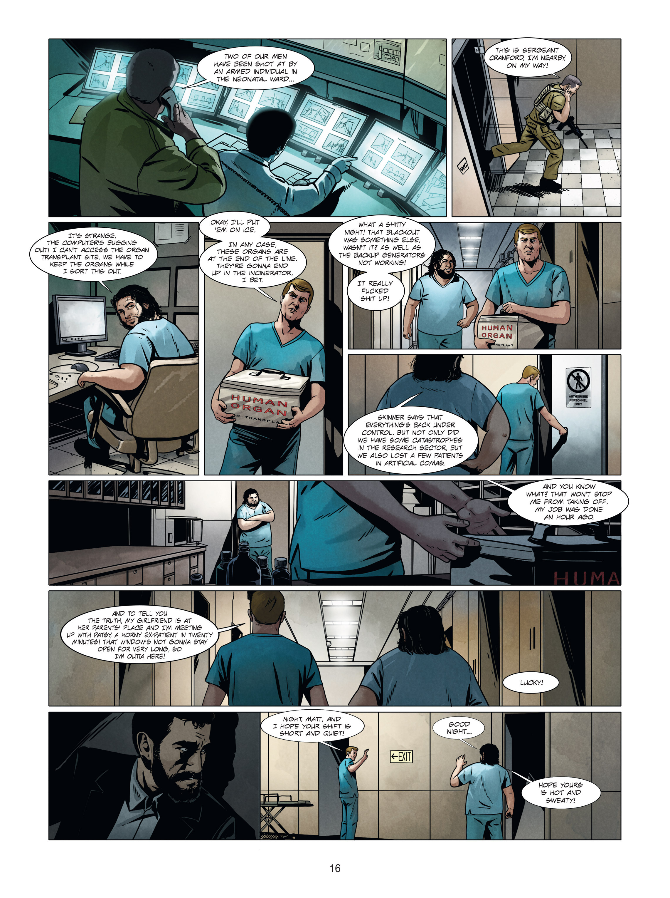 Read online Alice Matheson comic -  Issue #4 - 16