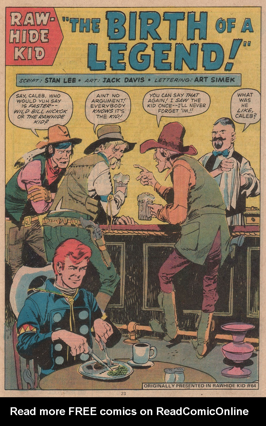 The Rawhide Kid (1955) issue 142 - Page 25