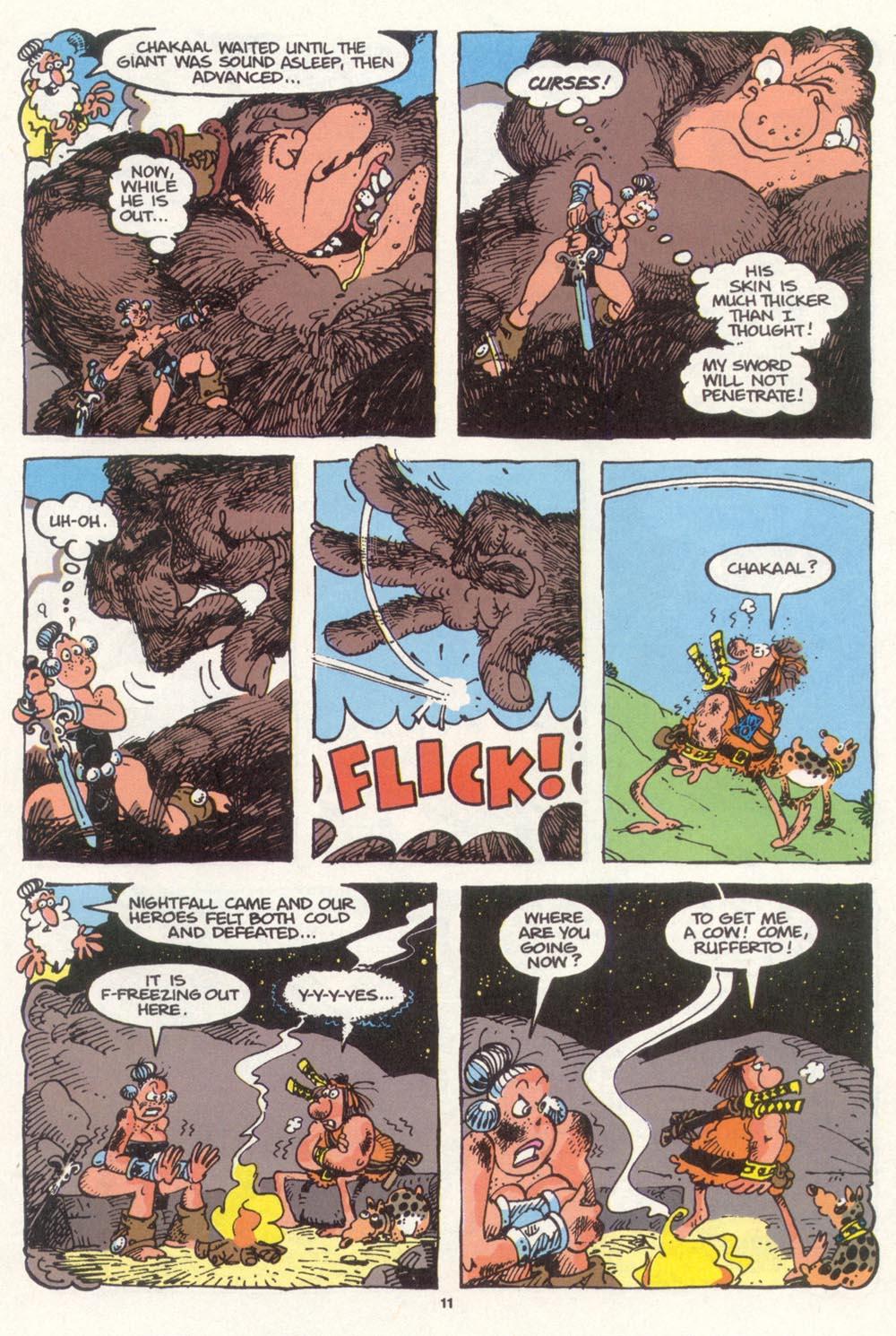 Read online Sergio Aragonés Groo the Wanderer comic -  Issue #98 - 12