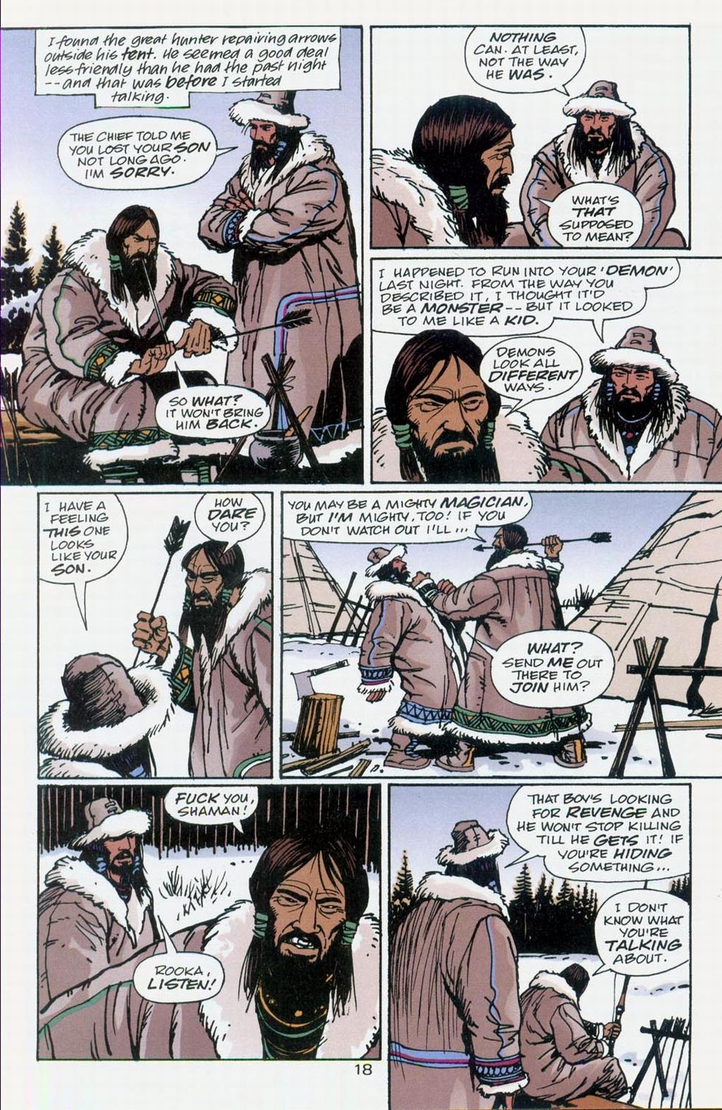 Muktuk Wolfsbreath: Hard-Boiled Shaman issue 1 - Page 18