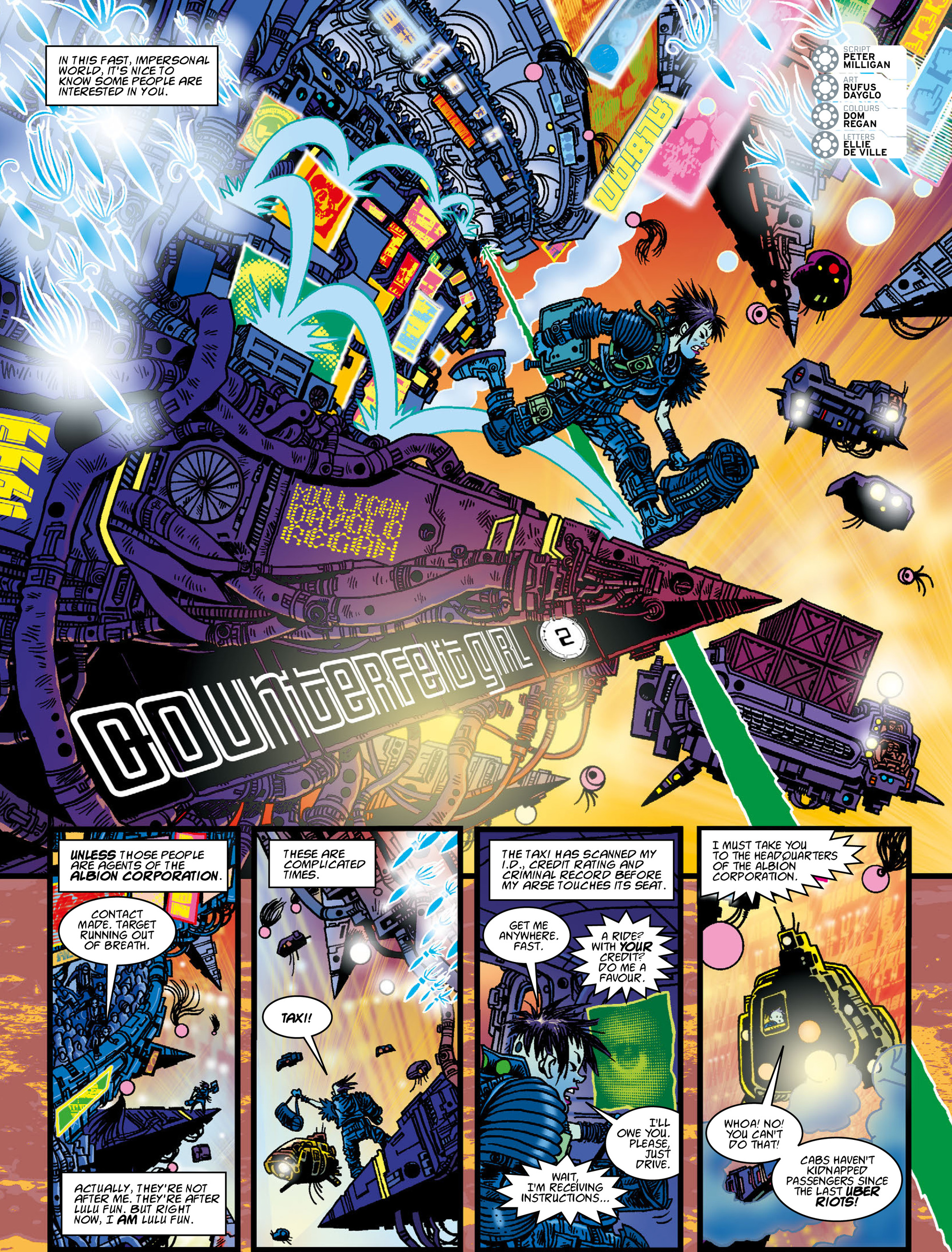Read online 2000 AD comic -  Issue #2001 - 9