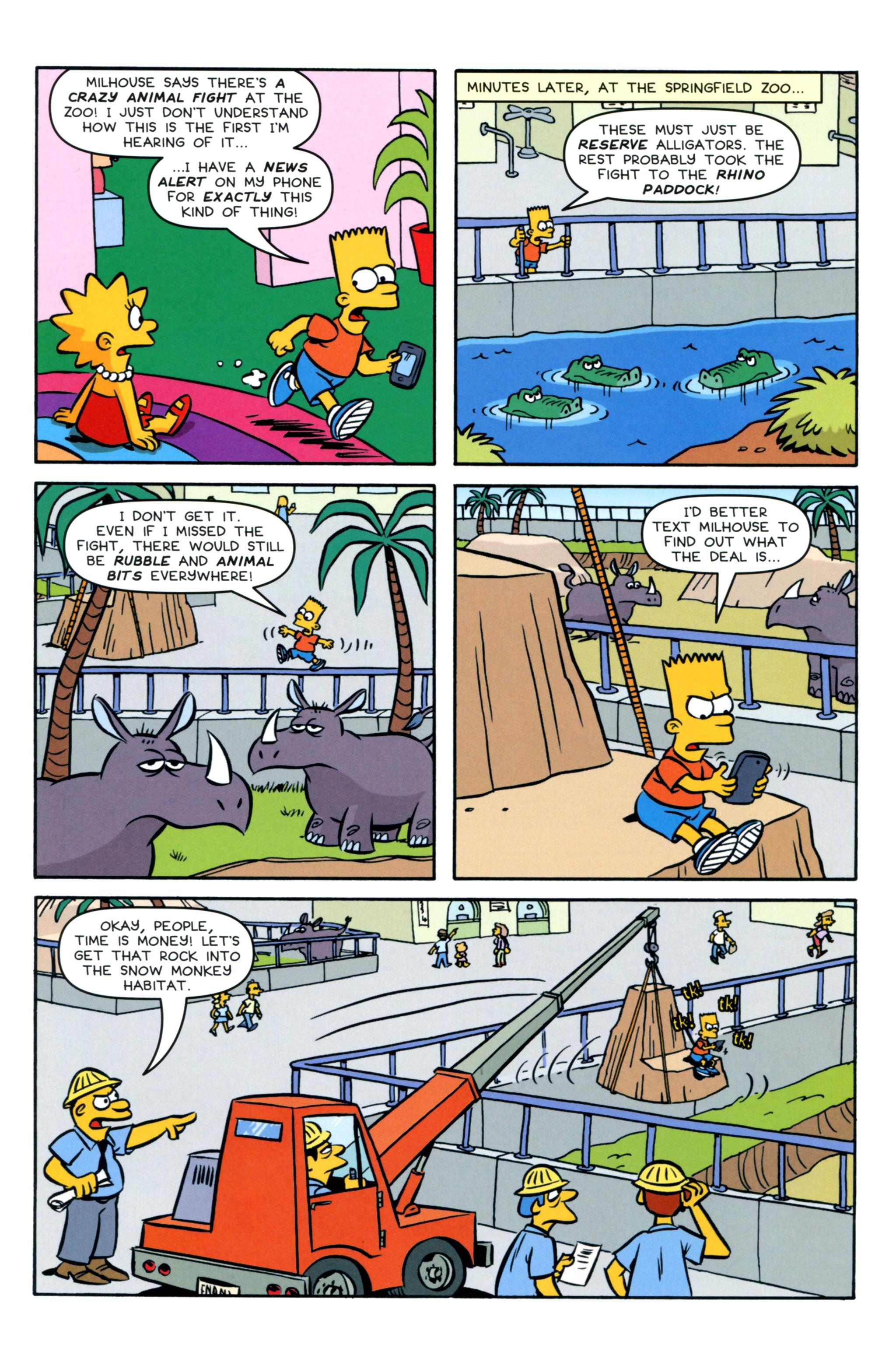 Read online Simpsons Comics Presents Bart Simpson comic -  Issue #93 - 16