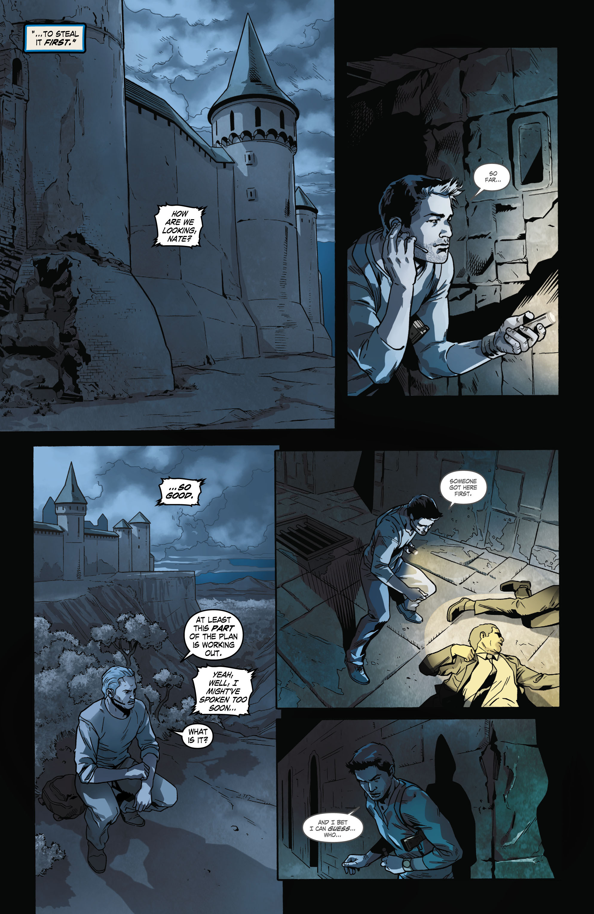 Read online Uncharted comic -  Issue #2 - 9