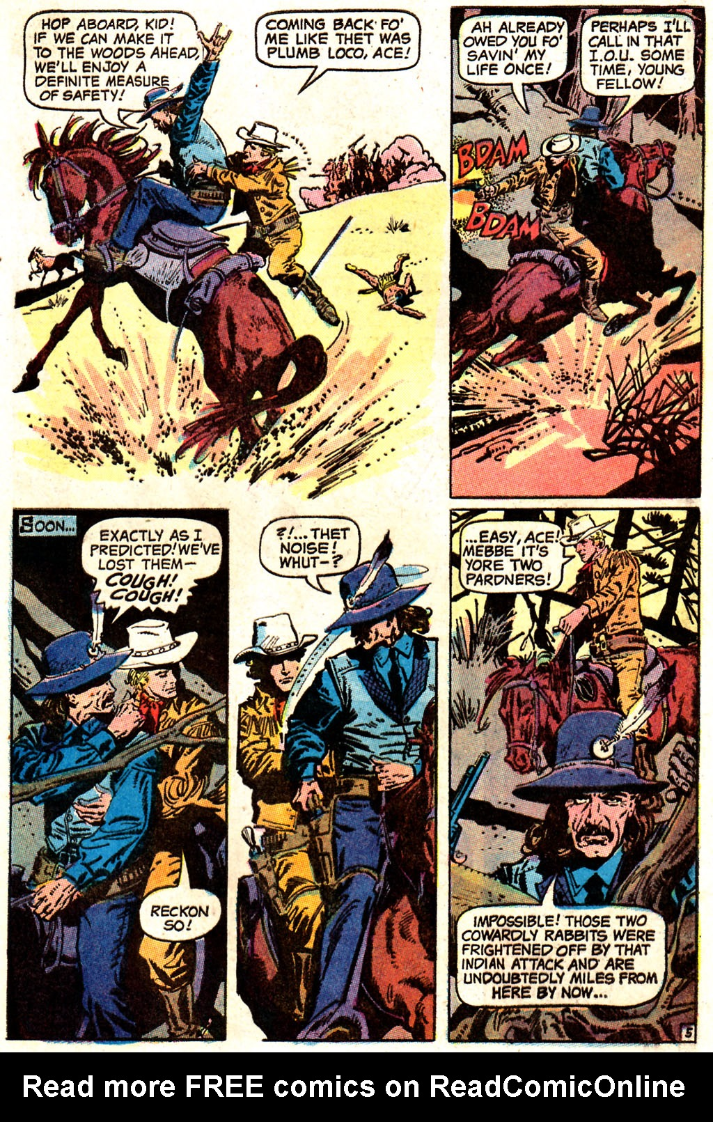 Read online All-Star Western (1970) comic -  Issue #7 - 7