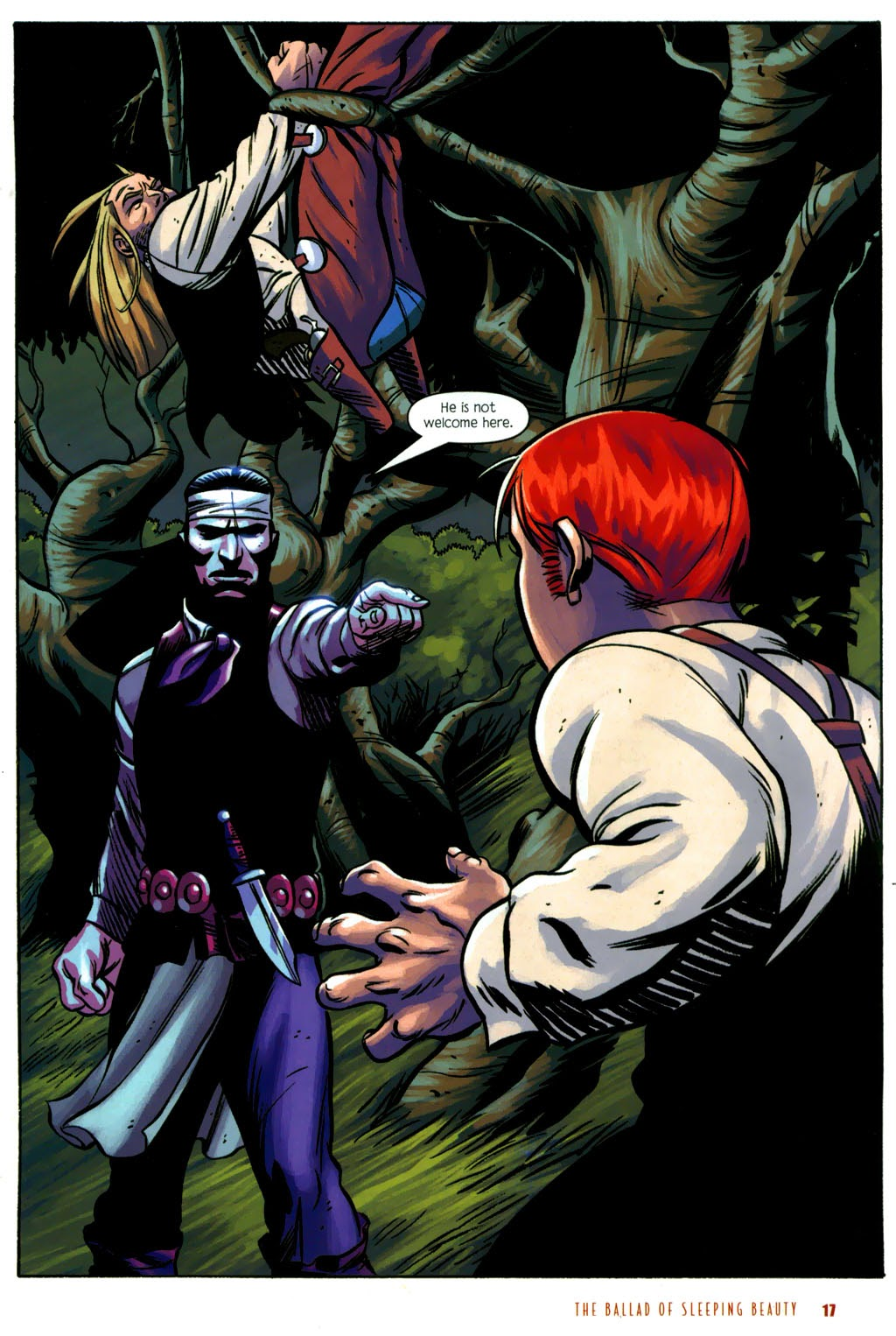 Read online The Ballad of Sleeping Beauty comic -  Issue #6 - 19
