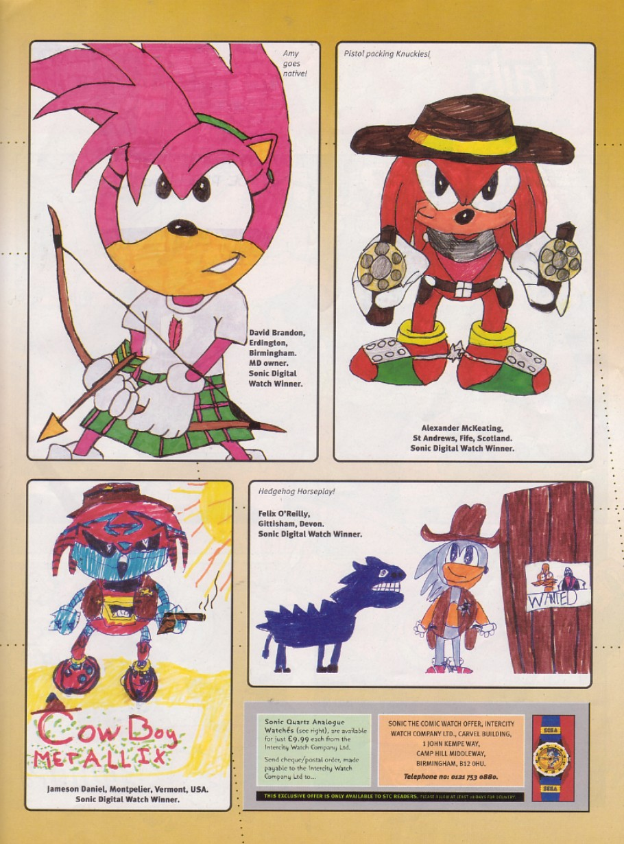 Read online Sonic the Comic comic -  Issue #140 - 16