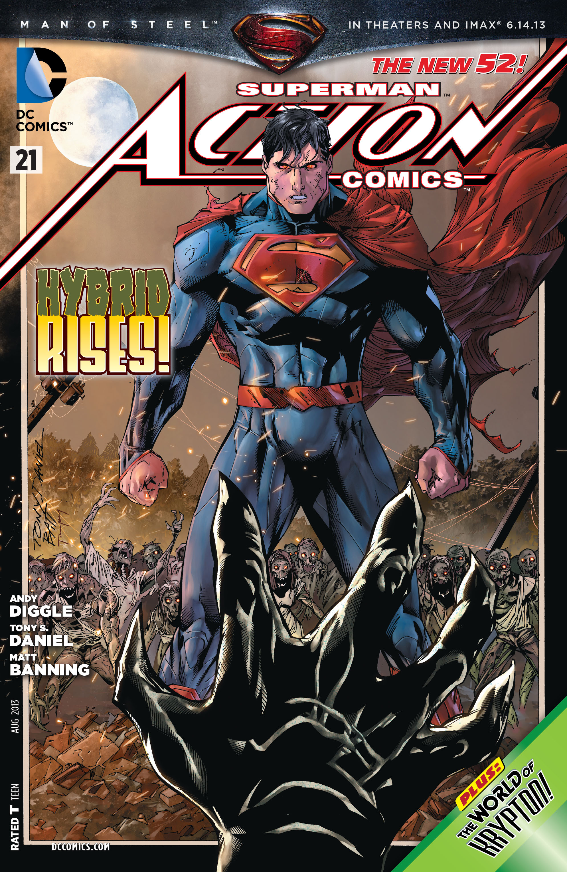 Read online Action Comics (2011) comic -  Issue #21 - 1