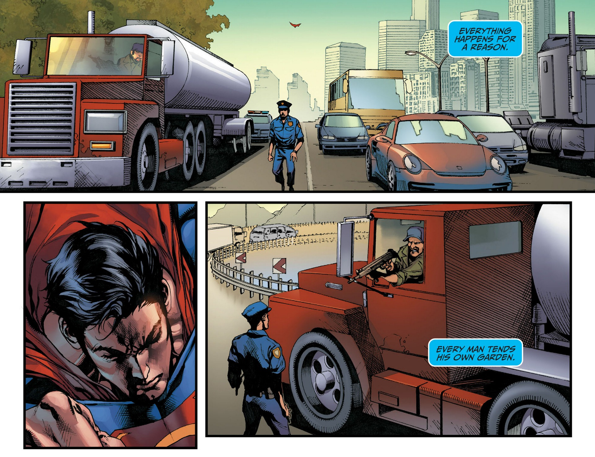 Read online Adventures of Superman [I] comic -  Issue #9 - 13
