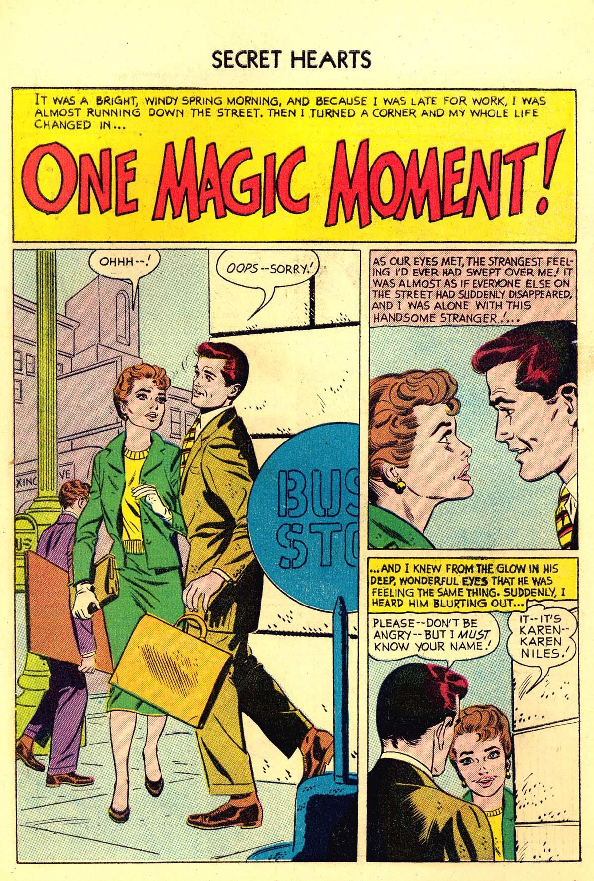 Read online Secret Hearts comic -  Issue #34 - 10