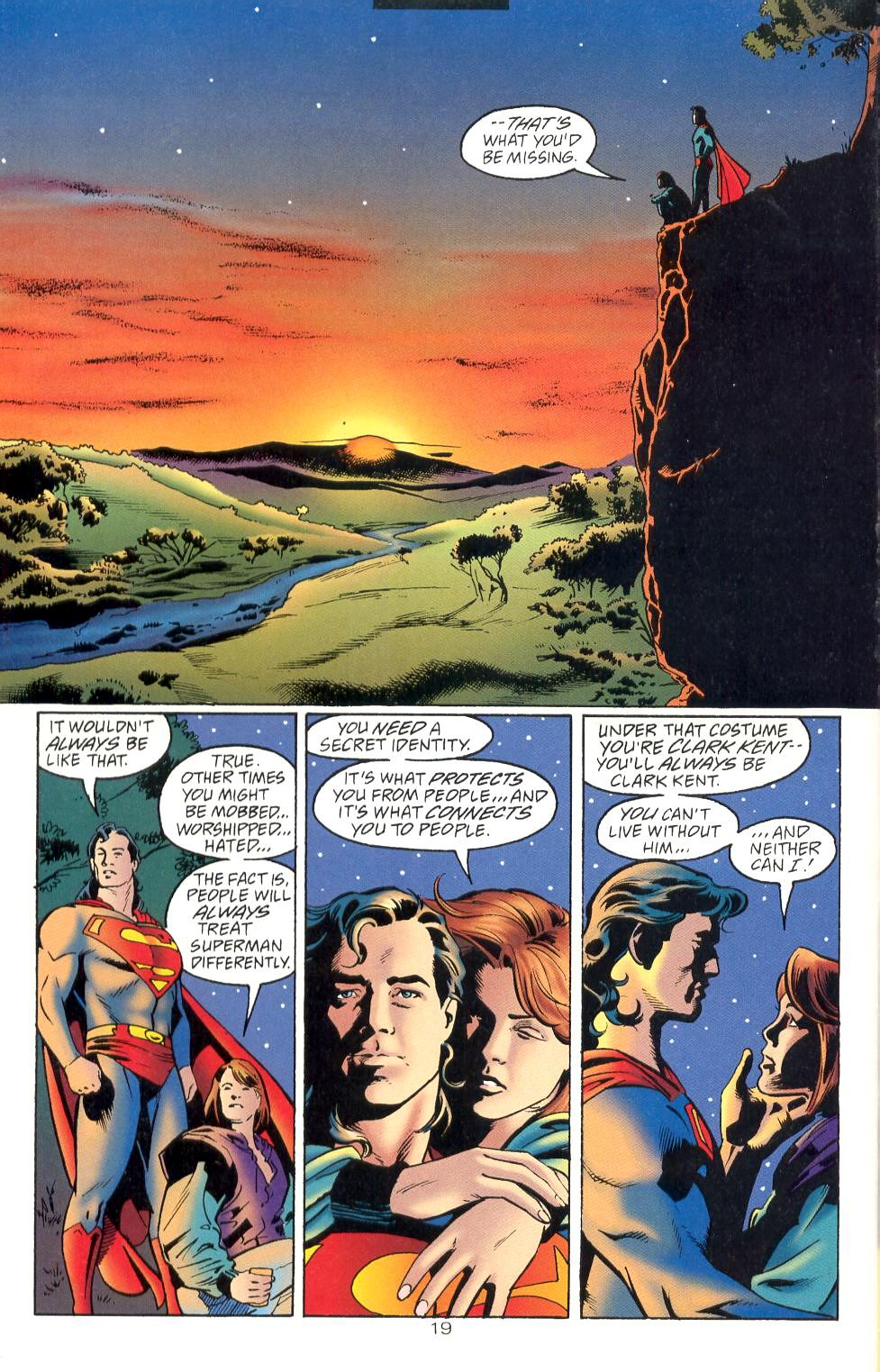 Read online Adventures of Superman (1987) comic -  Issue #525 - 20