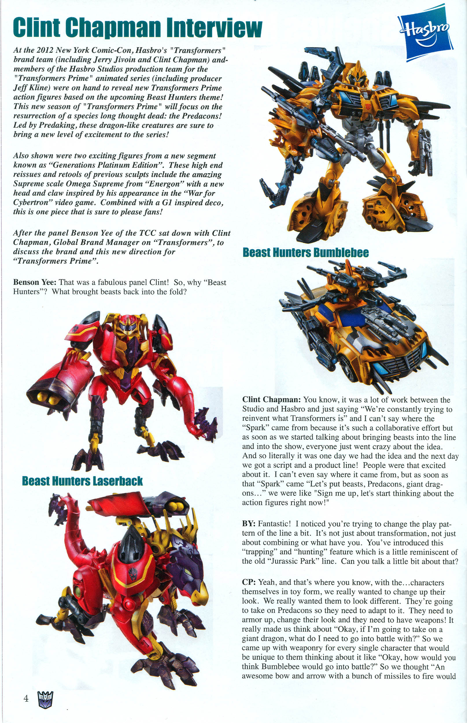 Read online Transformers: Collectors' Club comic -  Issue #48 - 4