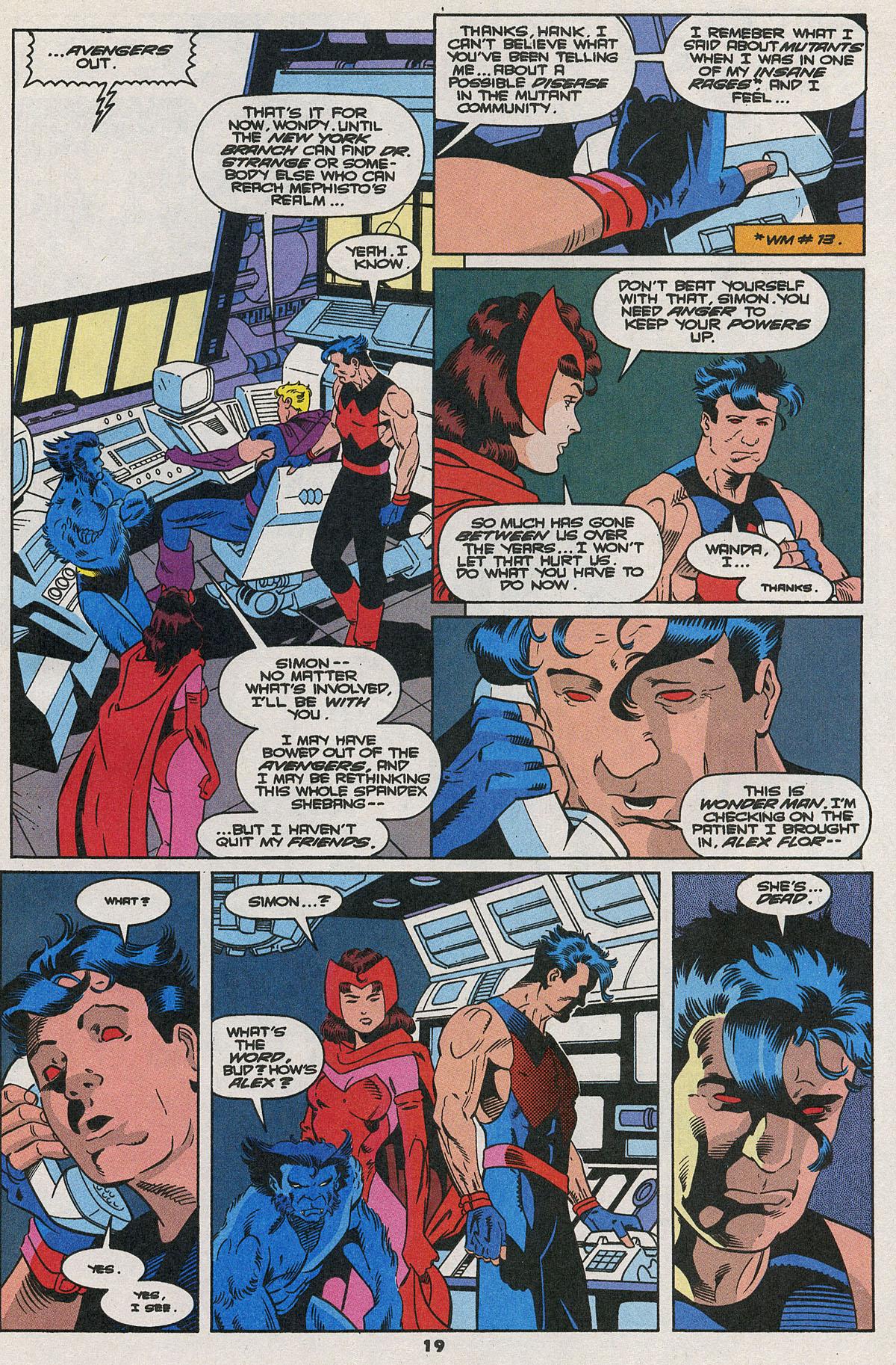 Read online Wonder Man (1991) comic -  Issue #23 - 15