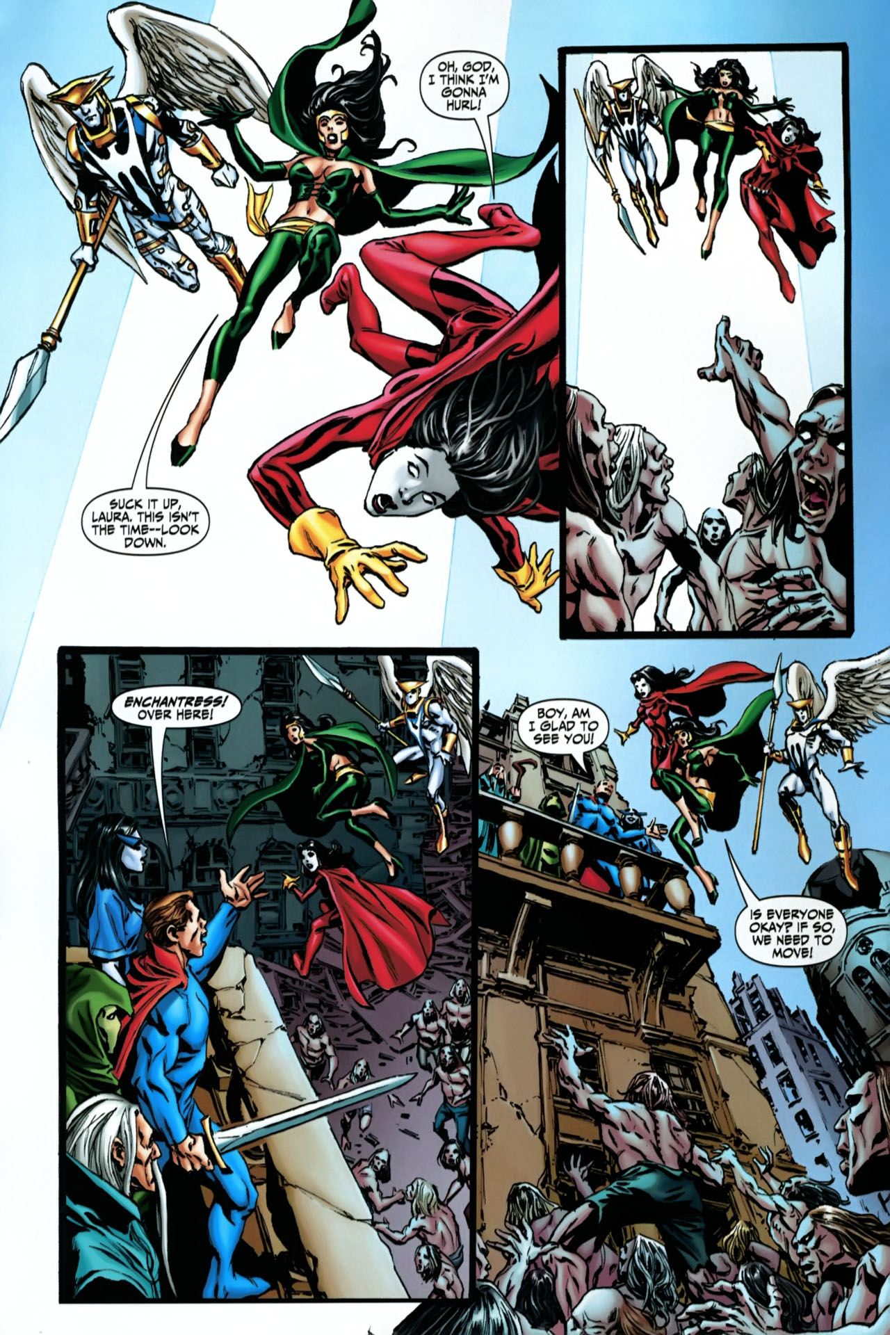 Read online Shadowpact comic -  Issue #22 - 3