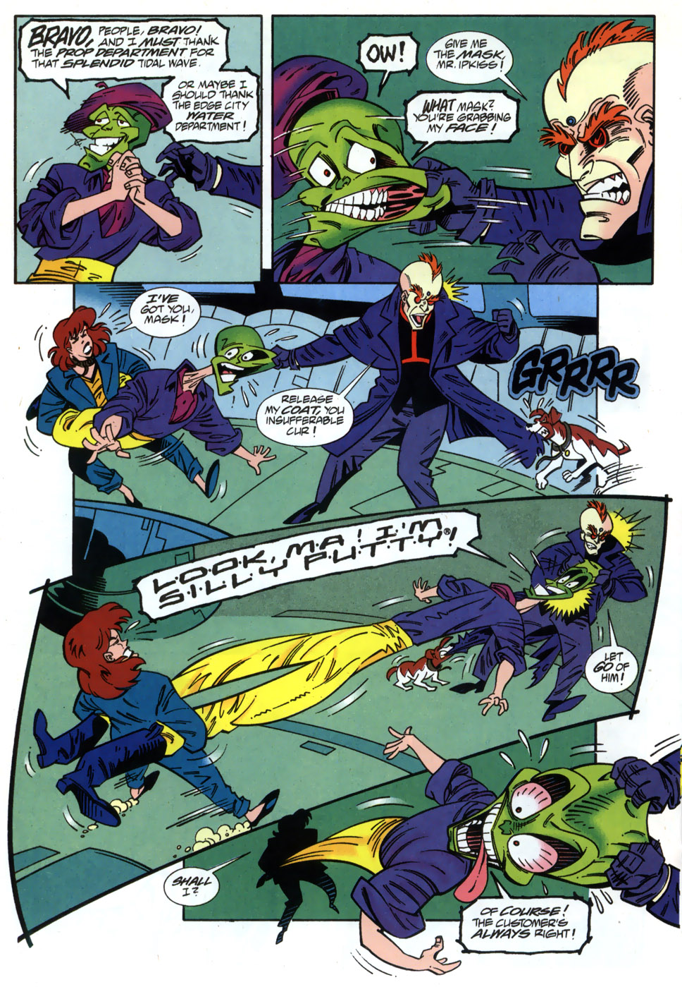 Read online Adventures Of The Mask comic -  Issue #2 - 20