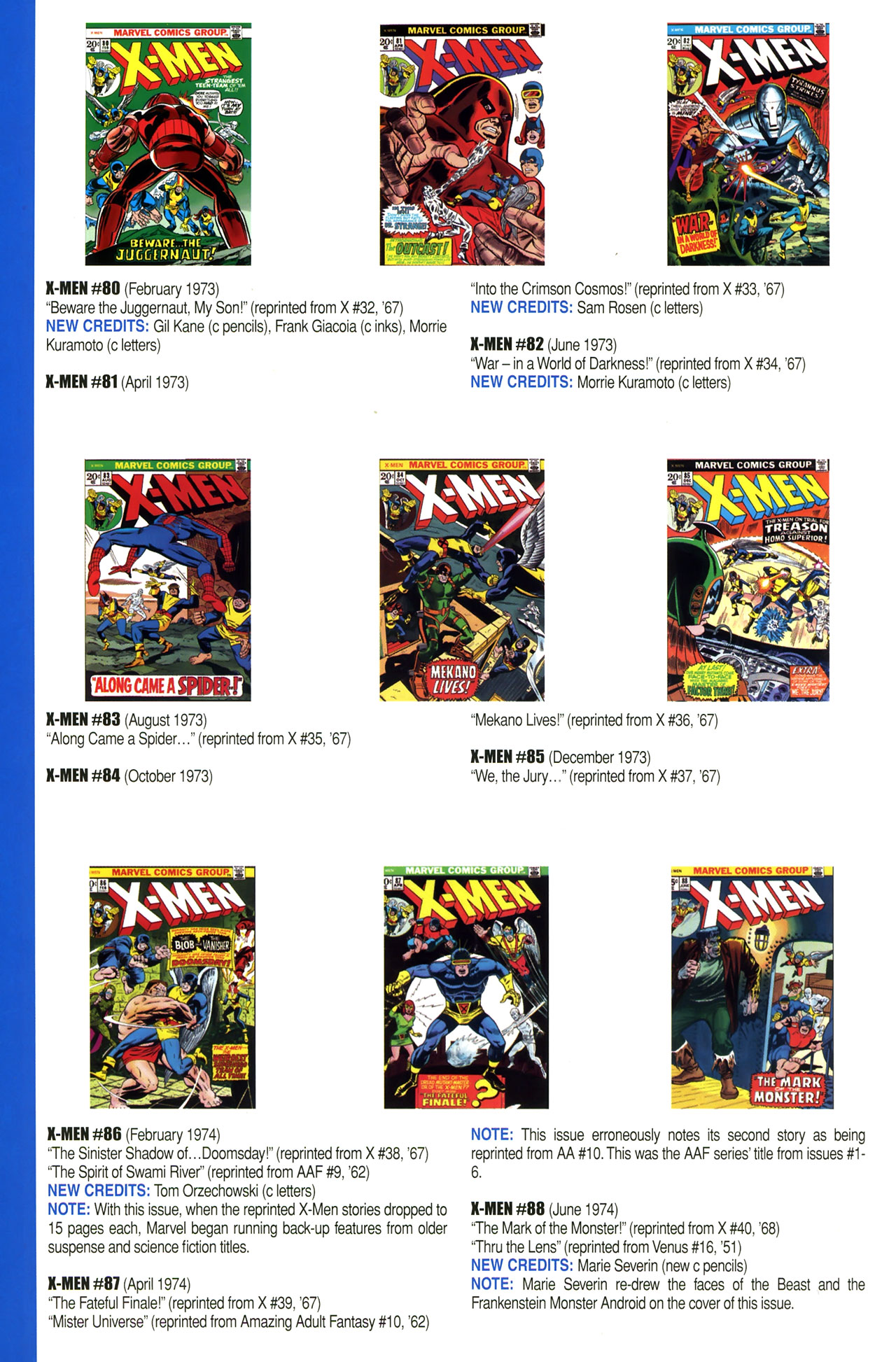 Read online Official Index to the Marvel Universe comic -  Issue #2 - 56