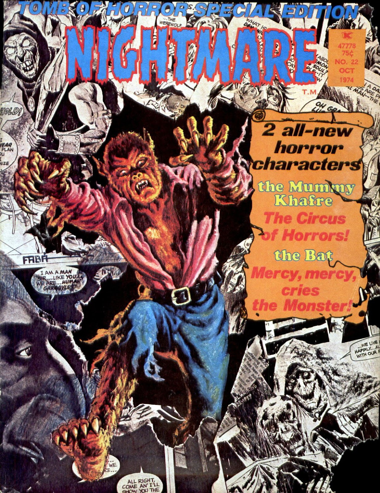 Nightmare (1970) issue 22 - Page 1