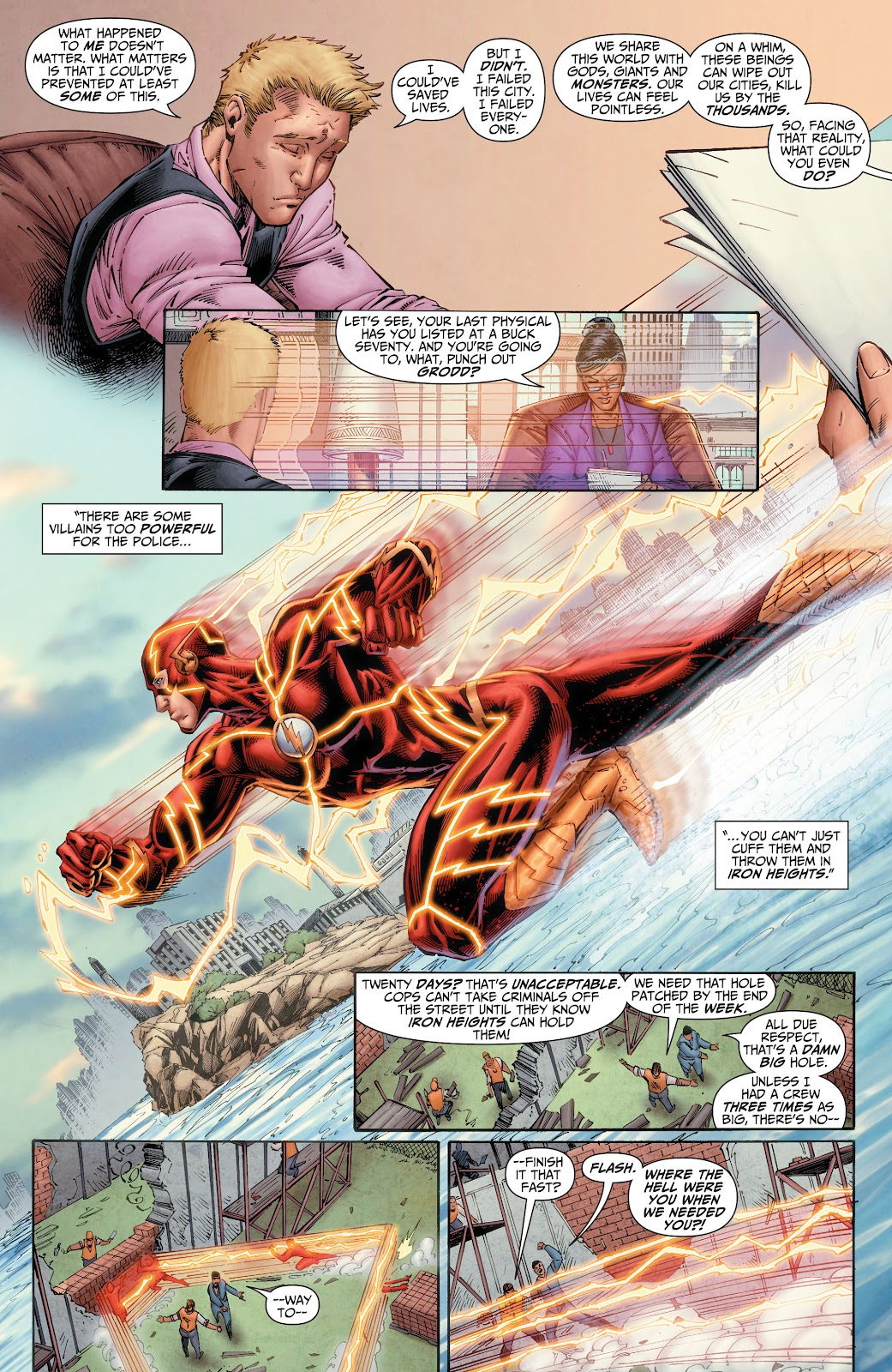 Read online The Flash (2011) comic -  Issue # _TPB 6 (Part 1) - 13
