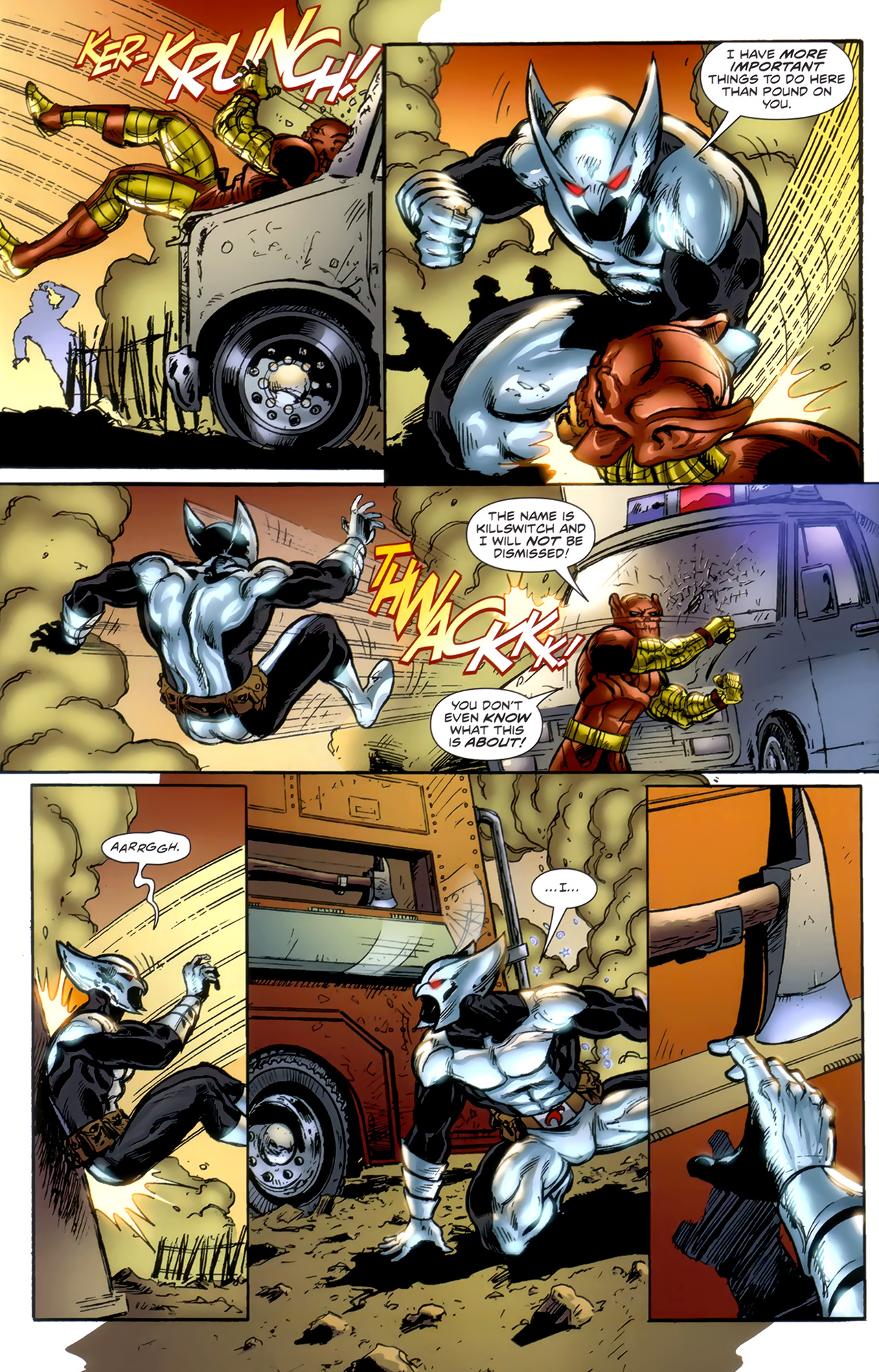 Read online ShadowHawk (2010) comic -  Issue #1 - 10