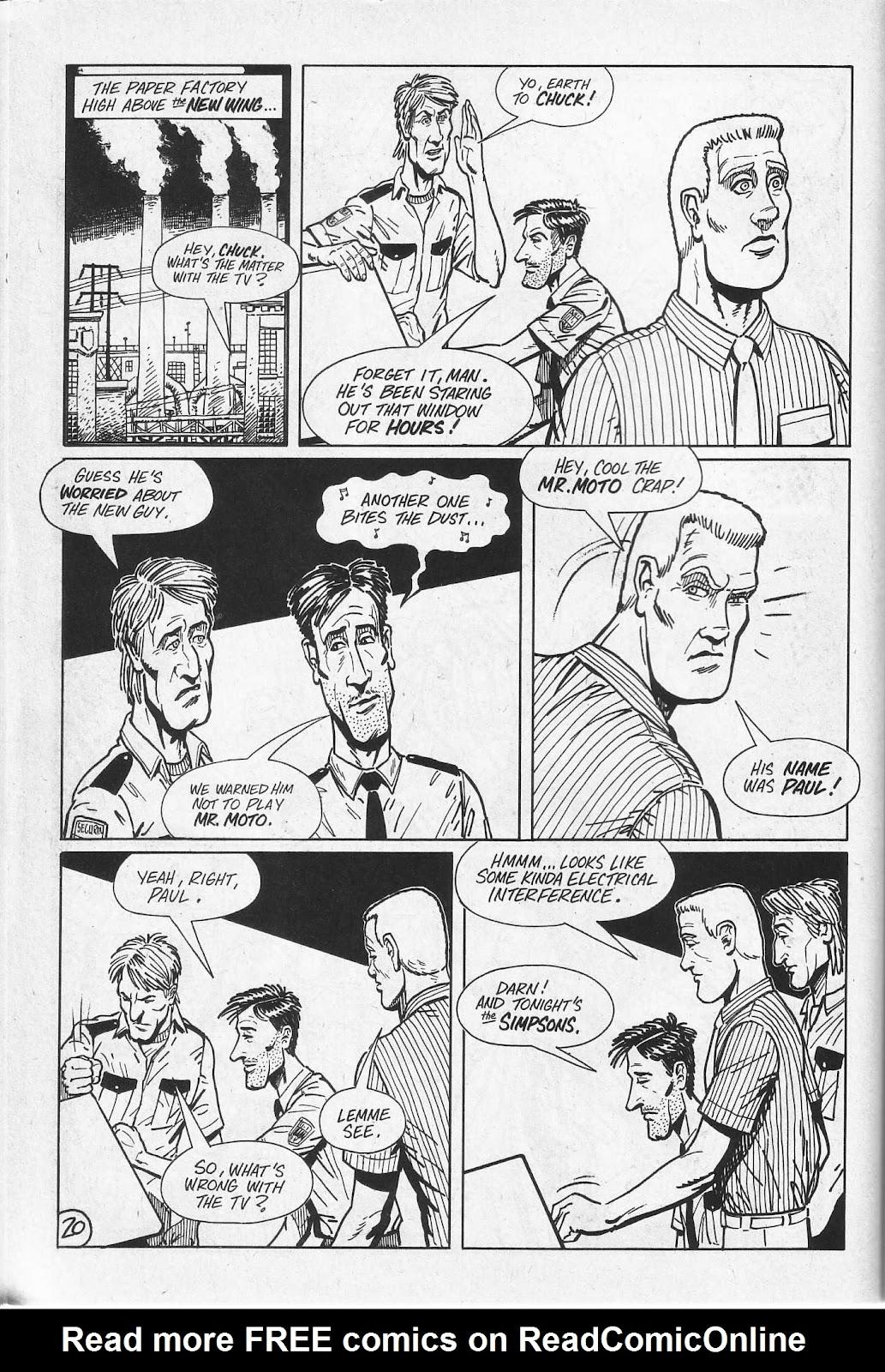 Read online Paul the Samurai (1991) comic -  Issue # TPB - 56