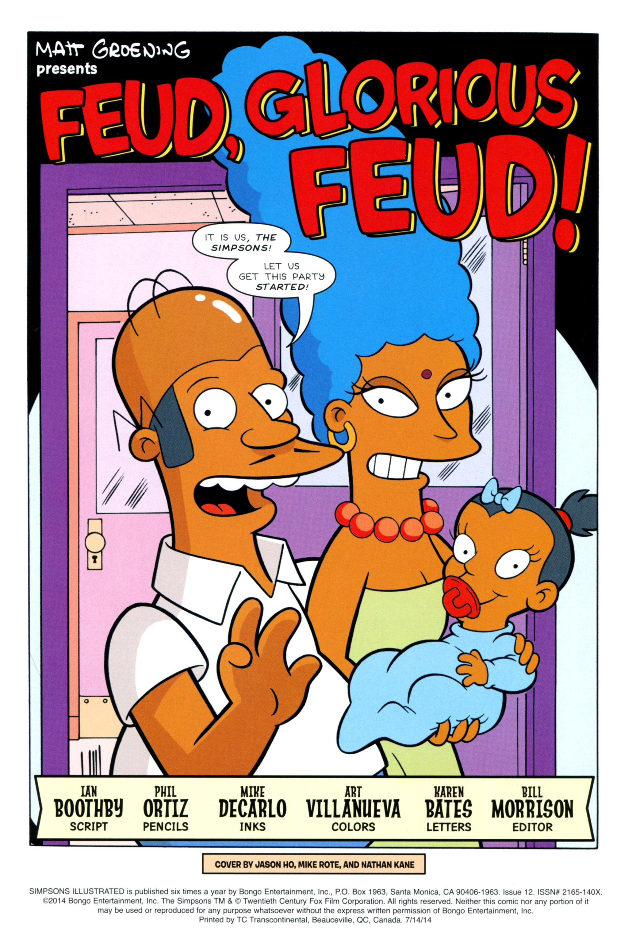 Read online Simpsons Illustrated (2012) comic -  Issue #12 - 3