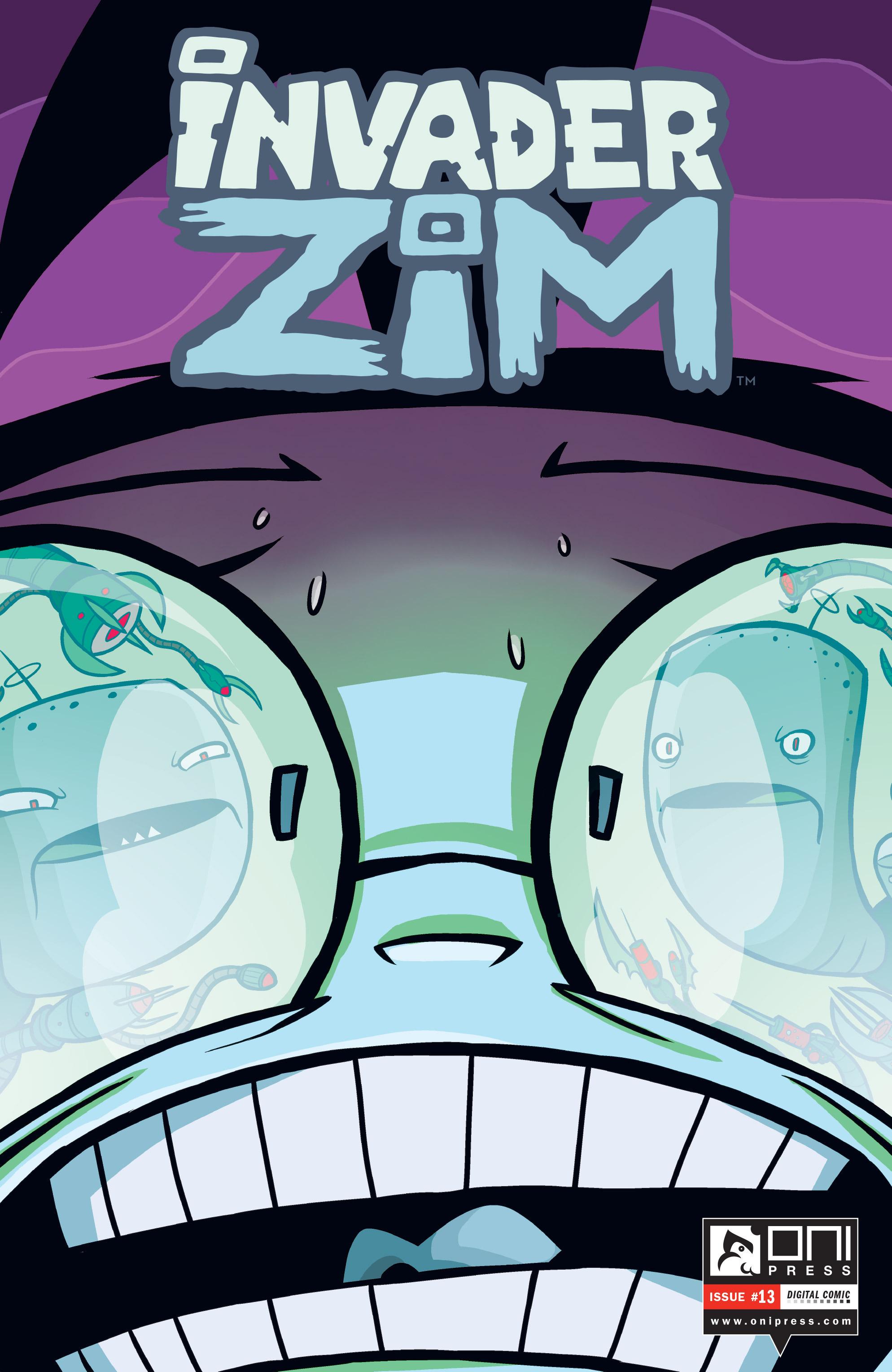 Invader Zim 13 Page 1