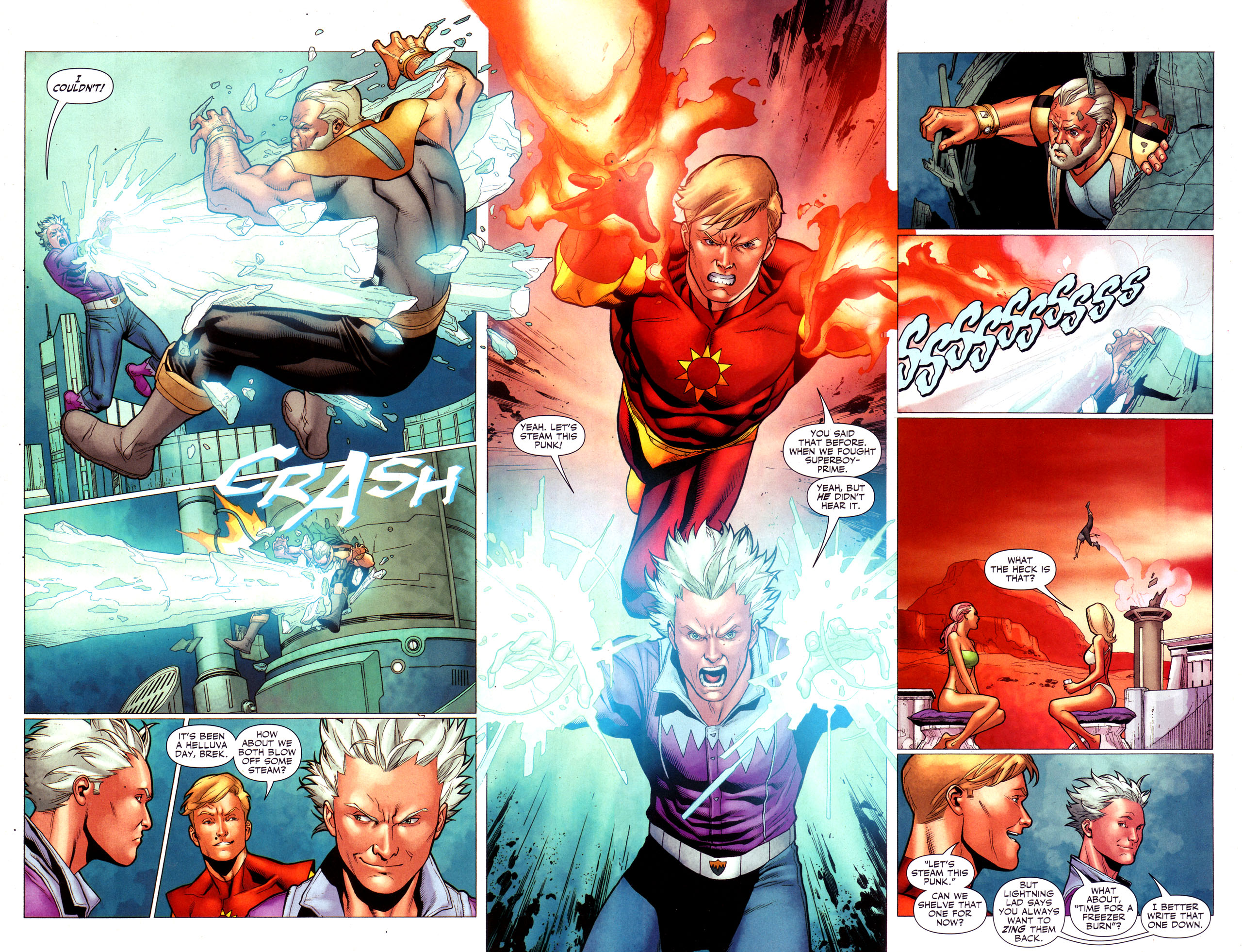 Read online Adventure Comics (2009) comic -  Issue #3 - 28