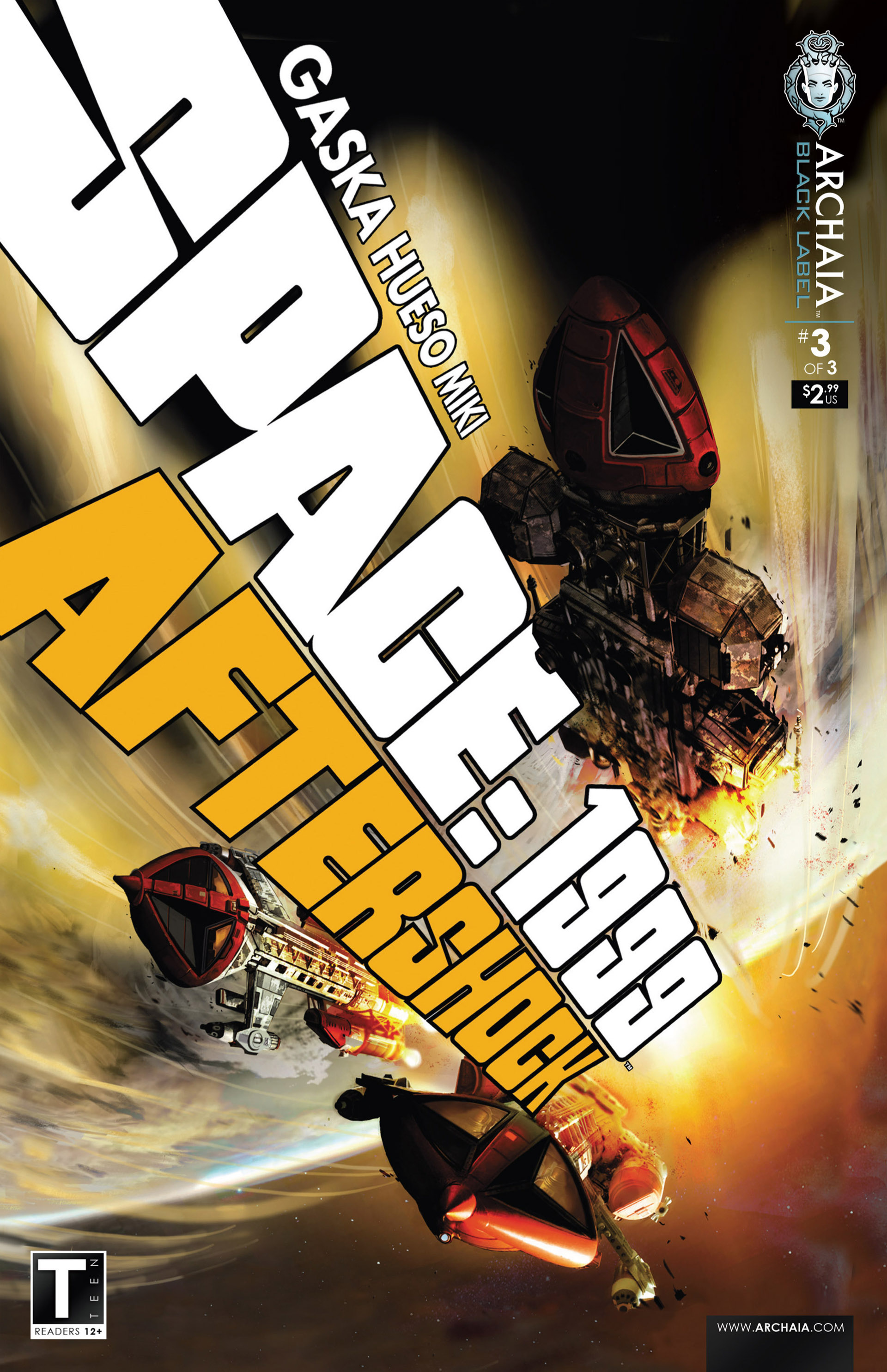 Read online Space: 1999: Aftershock comic -  Issue #3 - 1