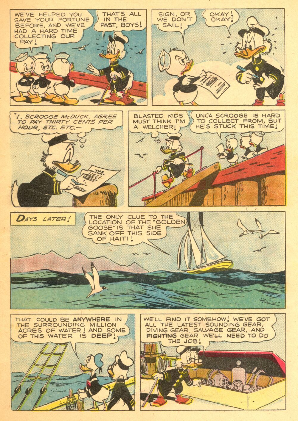 Read online Uncle Scrooge (1953) comic -  Issue #3 - 7