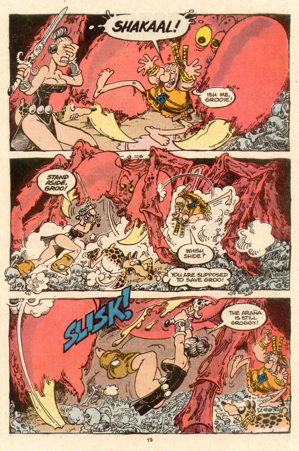 Read online Sergio Aragonés Groo the Wanderer comic -  Issue #52 - 19