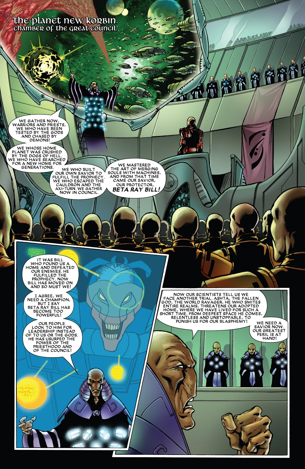 Read online Thor: Ragnaroks comic -  Issue # TPB (Part 3) - 64