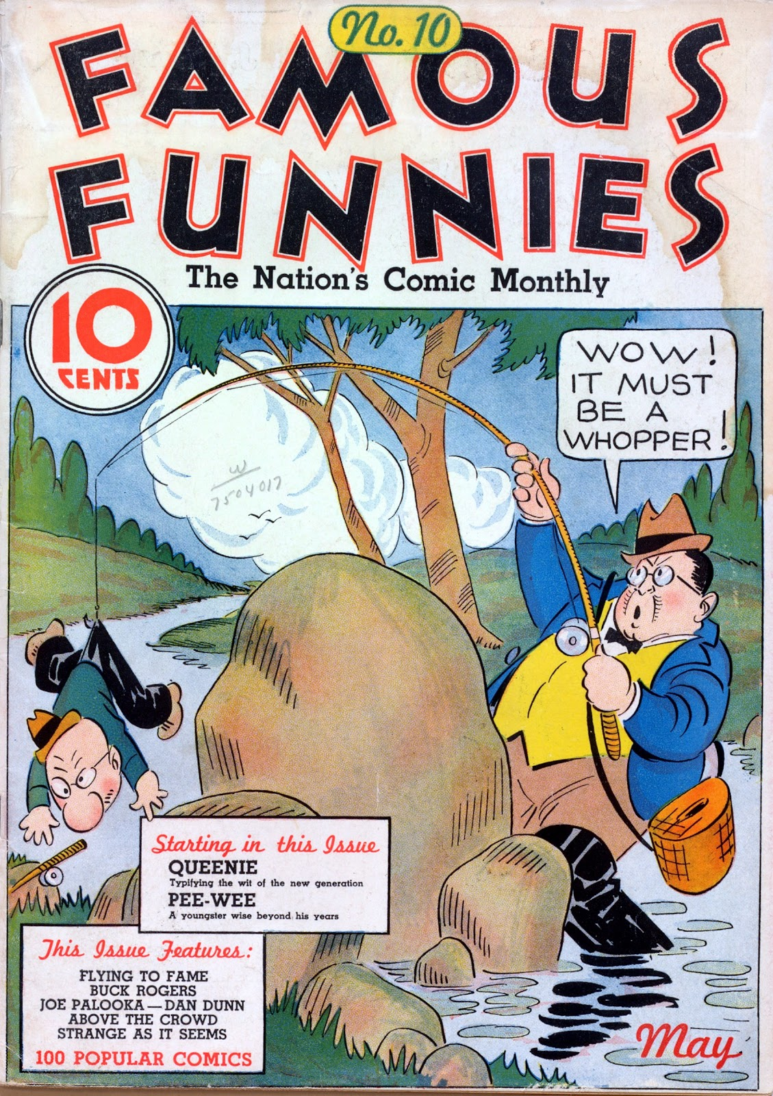 Read online Famous Funnies comic -  Issue #10 - 1