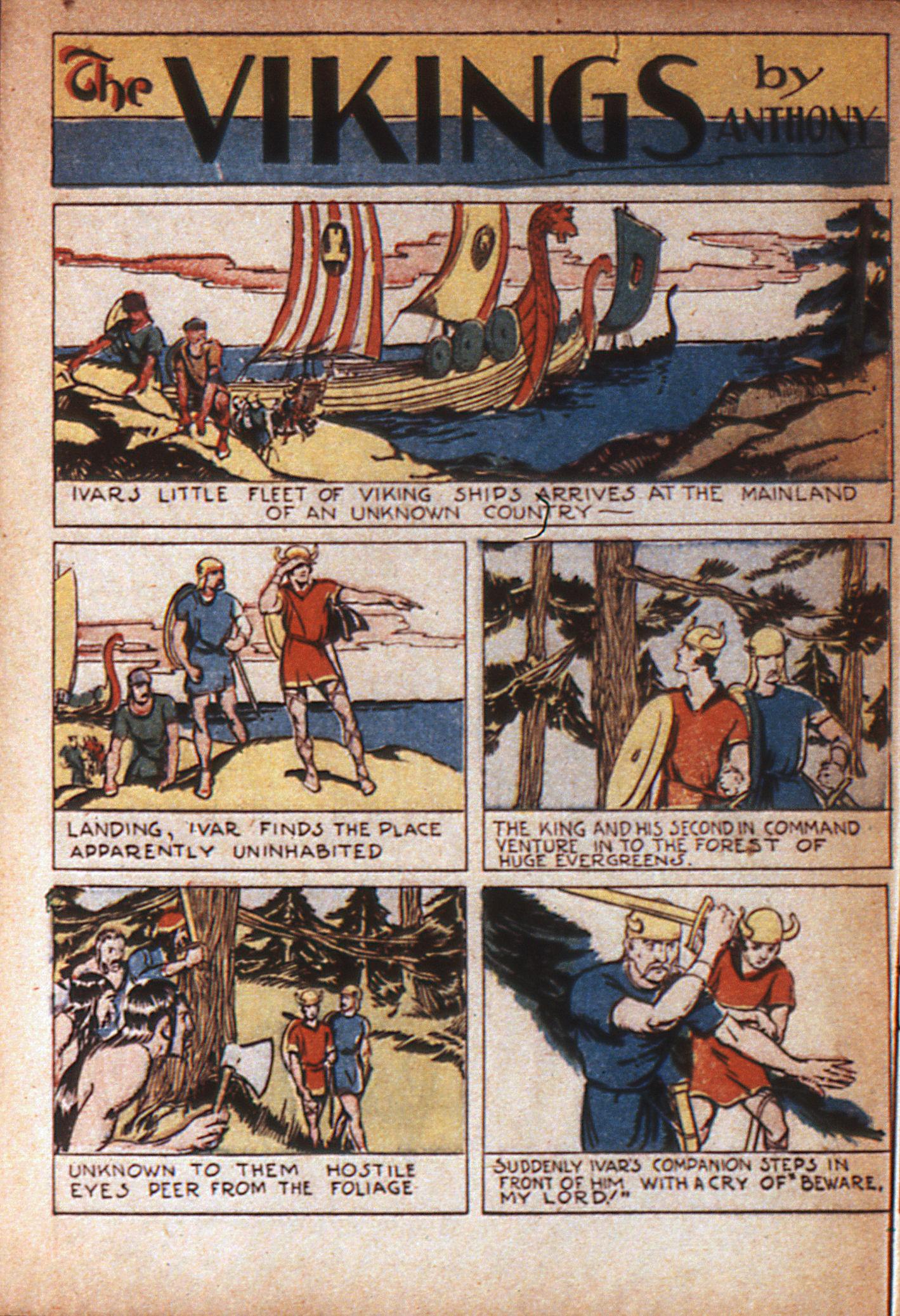 Read online Adventure Comics (1938) comic -  Issue #7 - 52