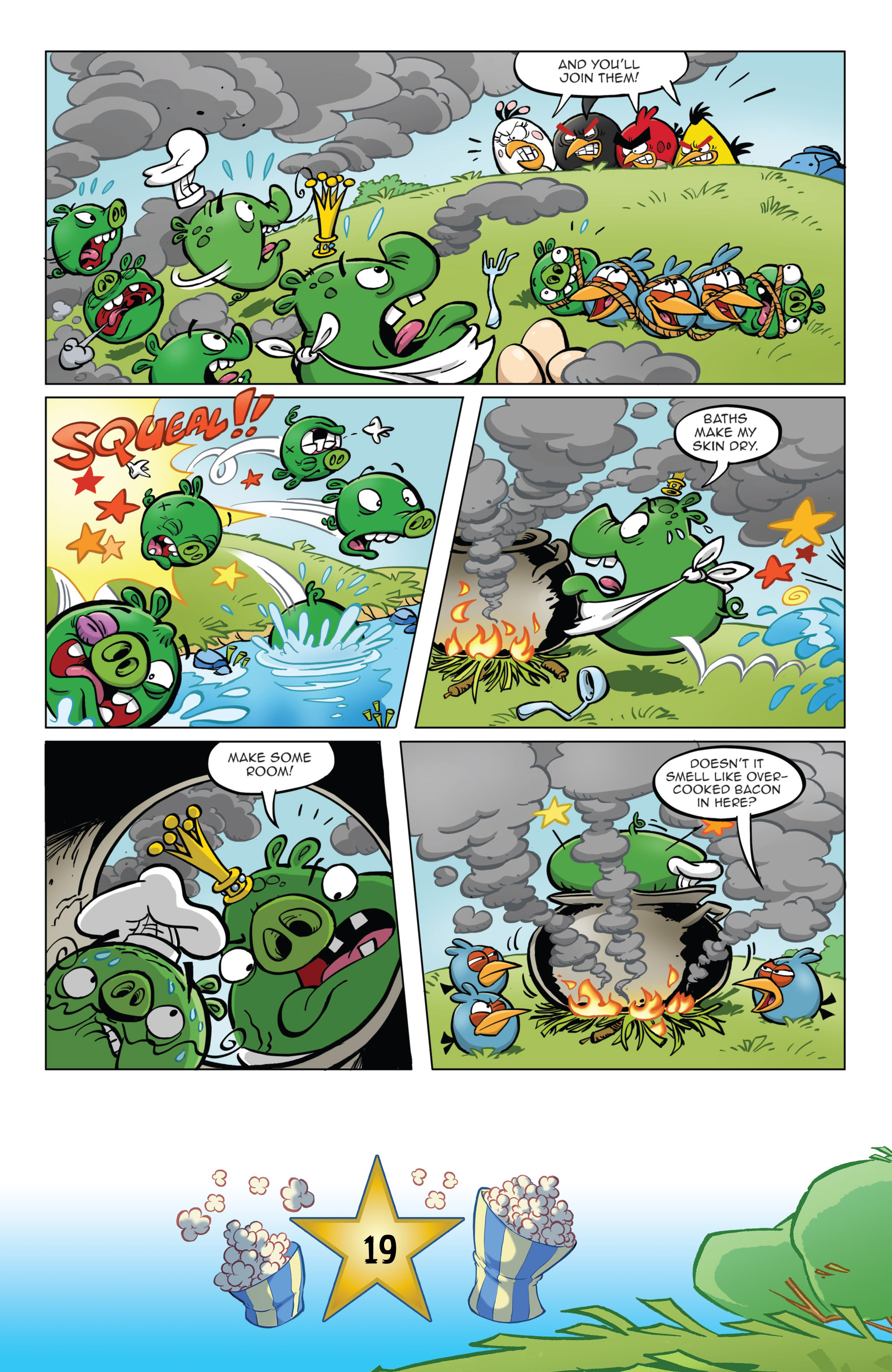 Read online Angry Birds Comics (2016) comic -  Issue #5 - 21