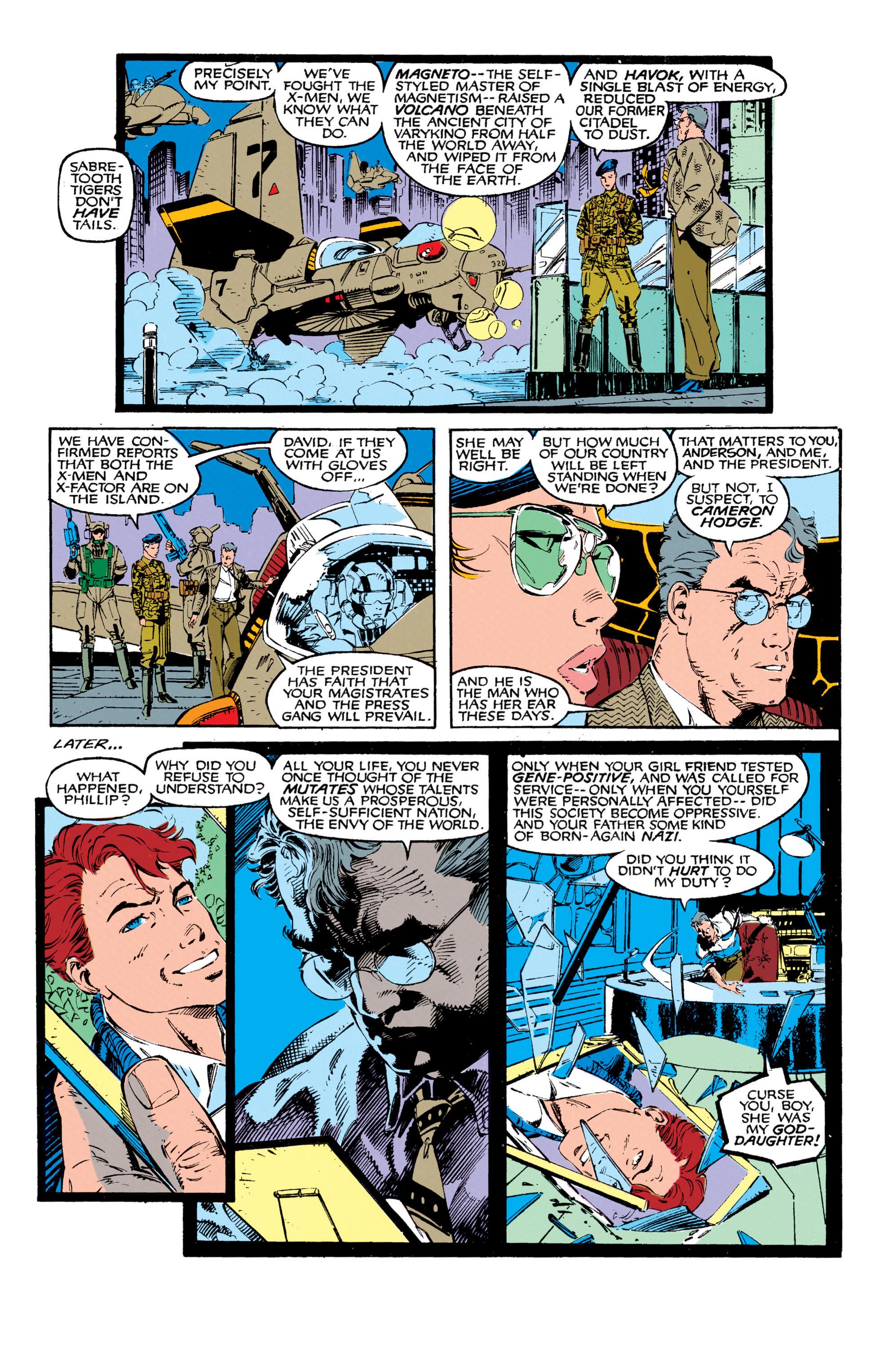 Read online Uncanny X-Men (1963) comic -  Issue #271 - 12
