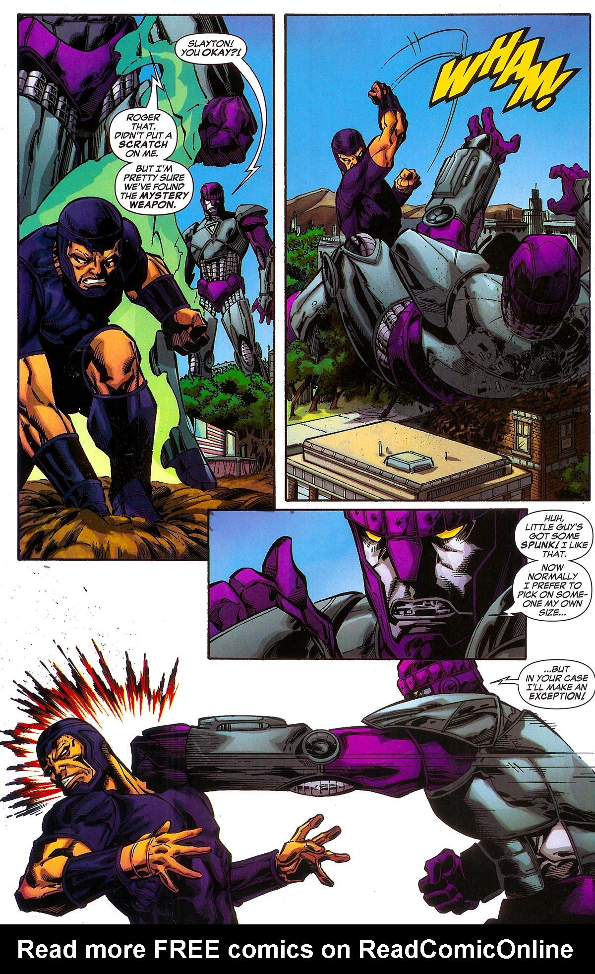 Read online Sentinel Squad O*N*E comic -  Issue #2 - 17