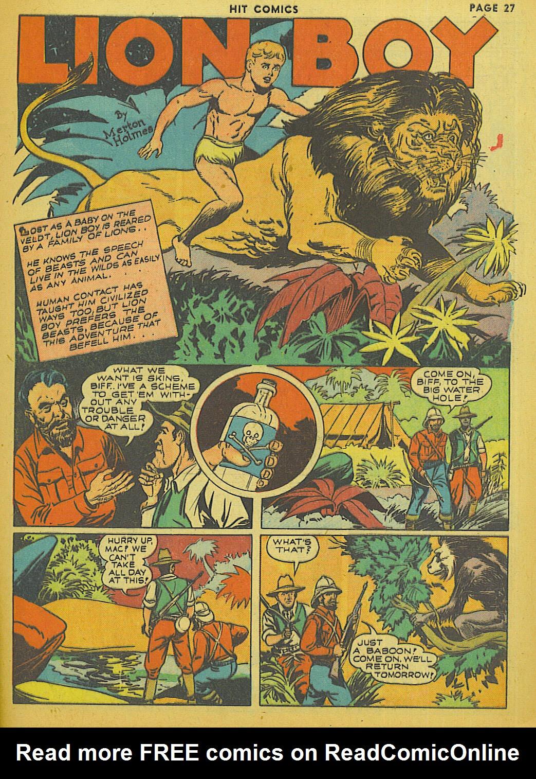 Read online Hit Comics comic -  Issue #13 - 29