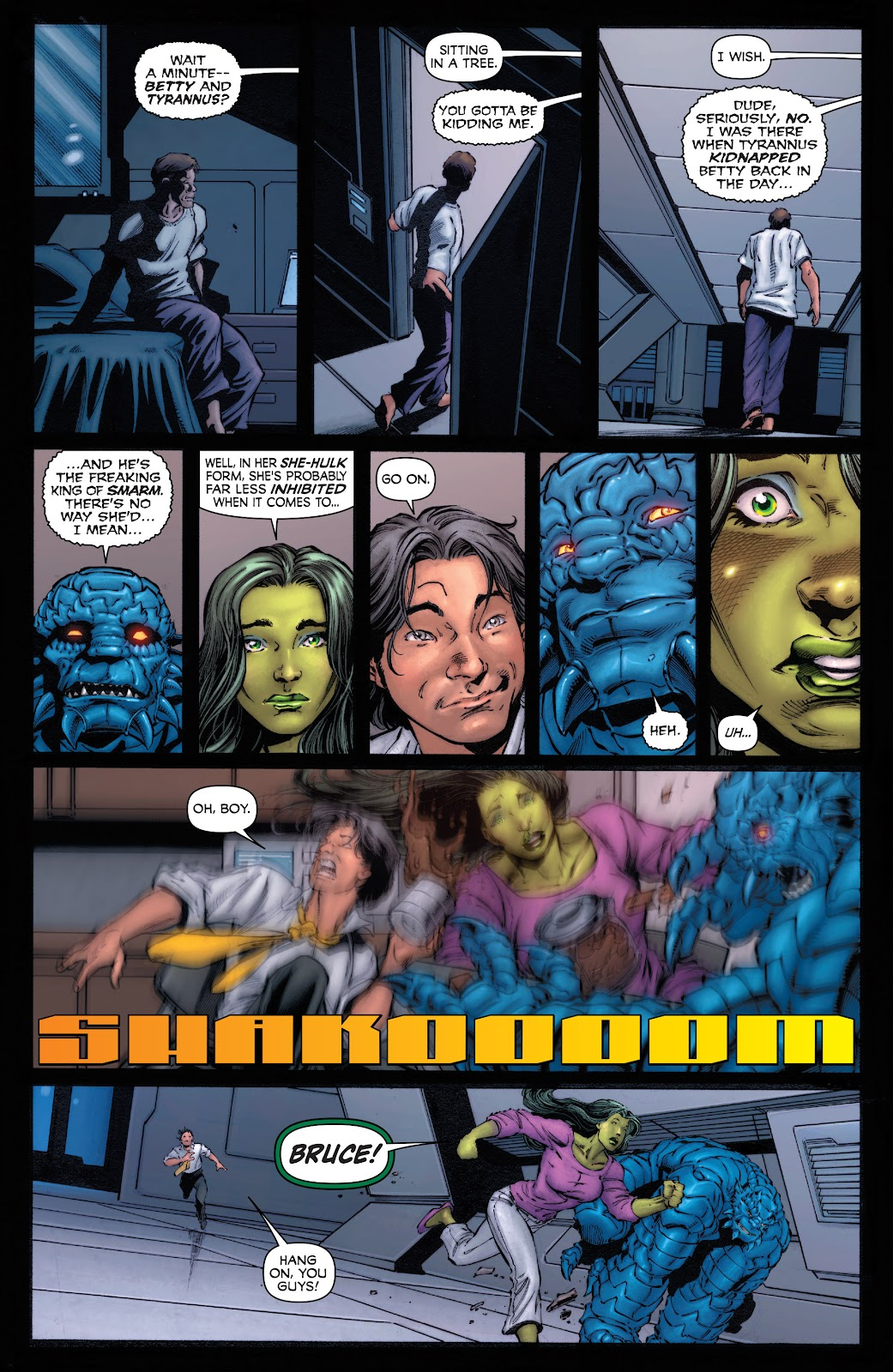 Read online Incredible Hulks (2010) comic -  Issue # _TPB Heart of the Monster - 7
