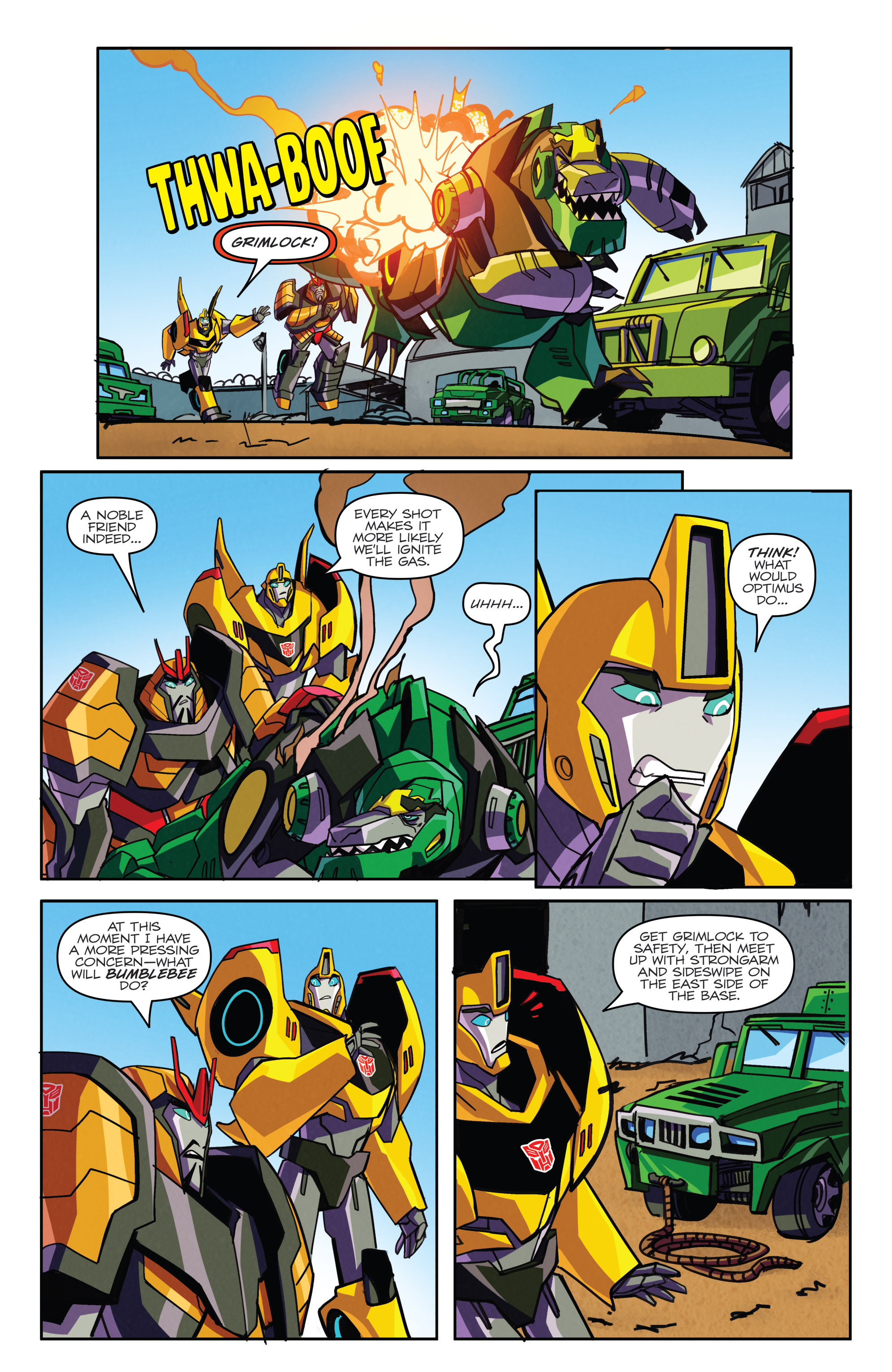 Read online Transformers: Robots In Disguise (2015) comic -  Issue #5 - 20