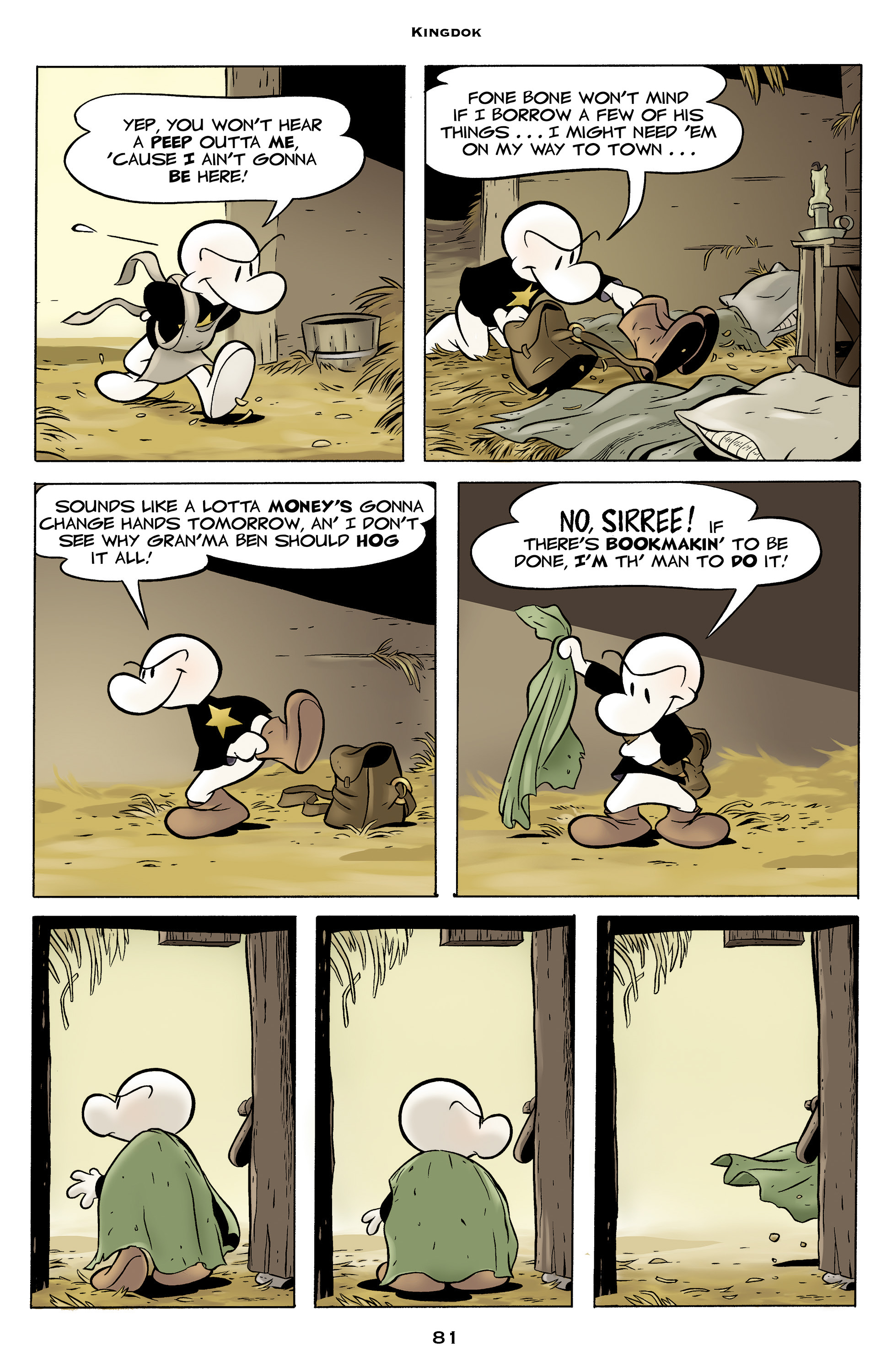 Read online Bone: Out From Boneville comic -  Issue # TPB - 81