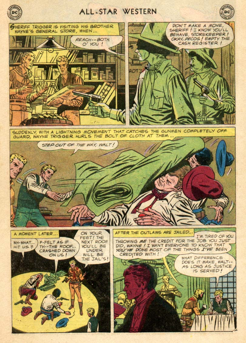 Read online All-Star Western (1951) comic -  Issue #97 - 3
