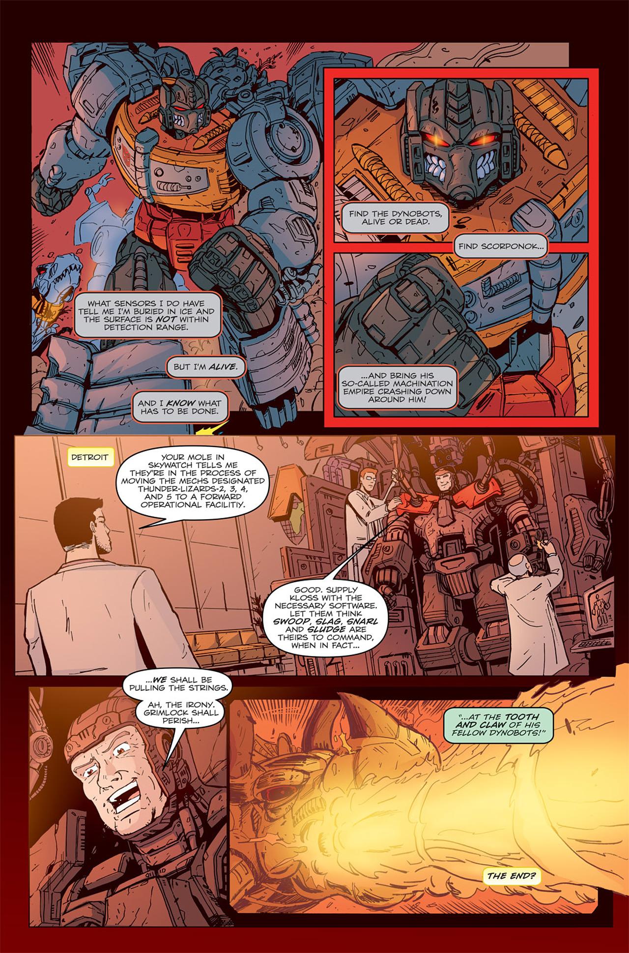 Read online Transformers Spotlight: Grimlock comic -  Issue # Full - 26
