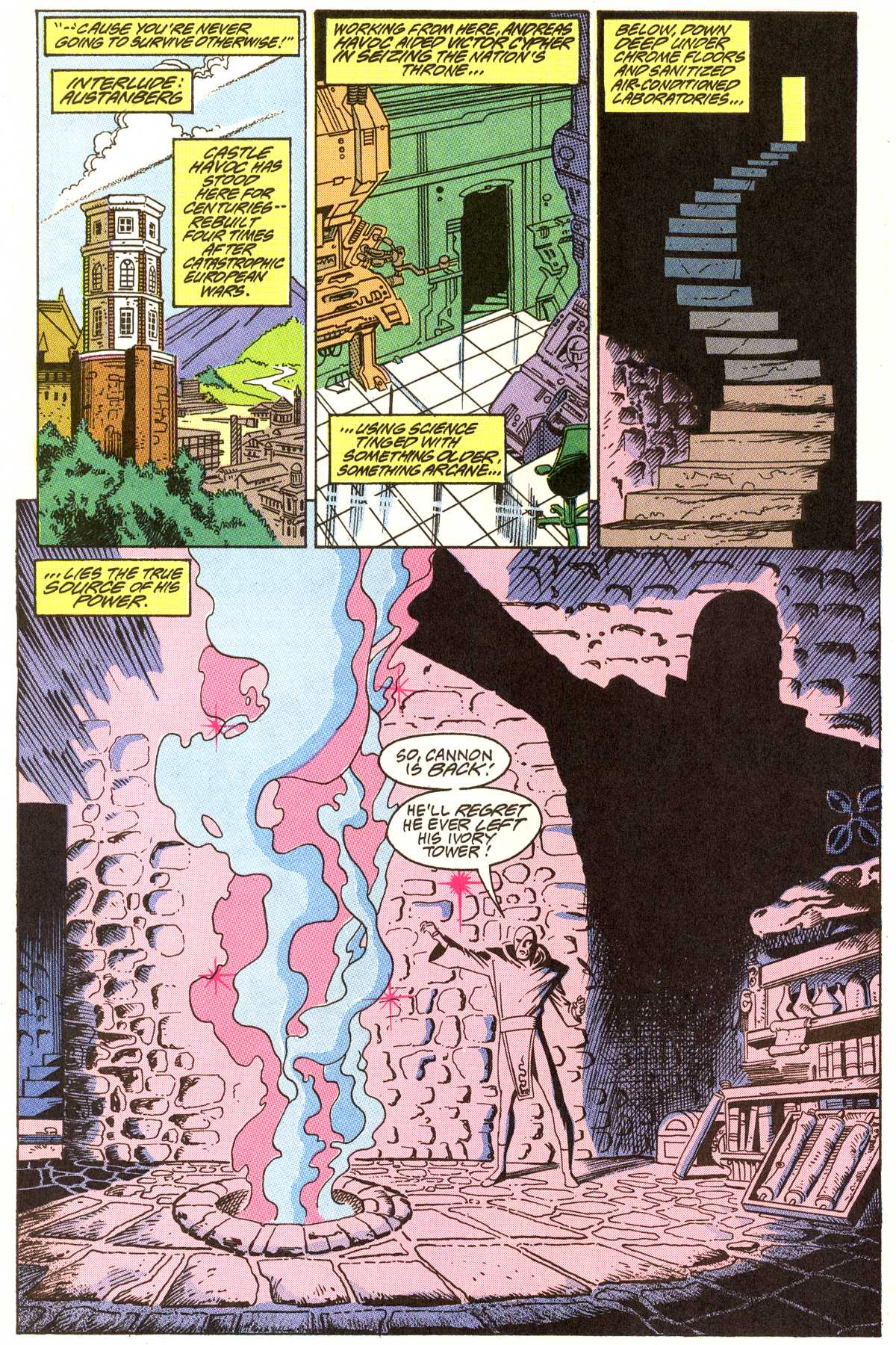 Read online Peter Cannon--Thunderbolt (1992) comic -  Issue #7 - 7