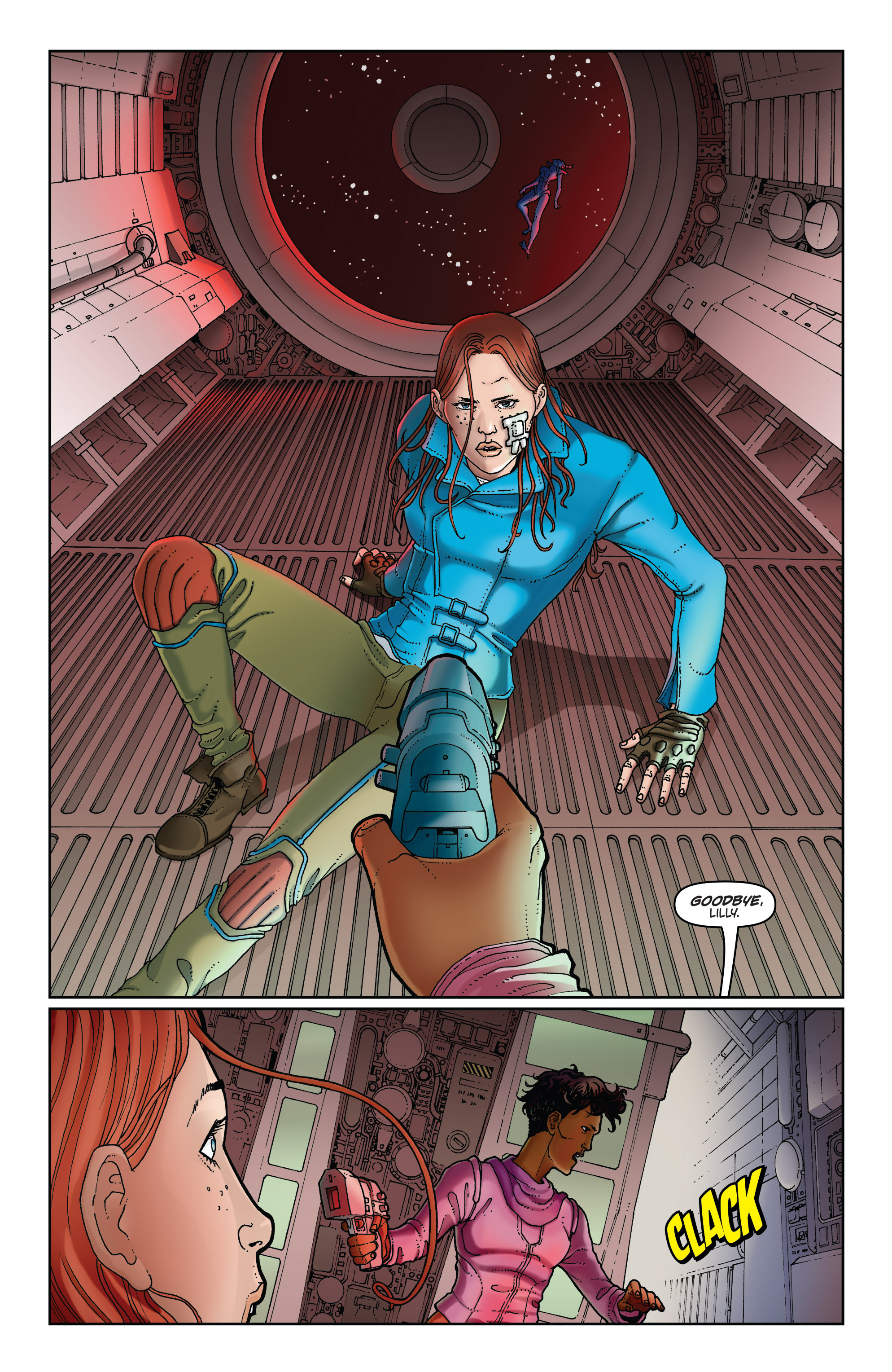 Read online Satellite Falling comic -  Issue #5 - 3