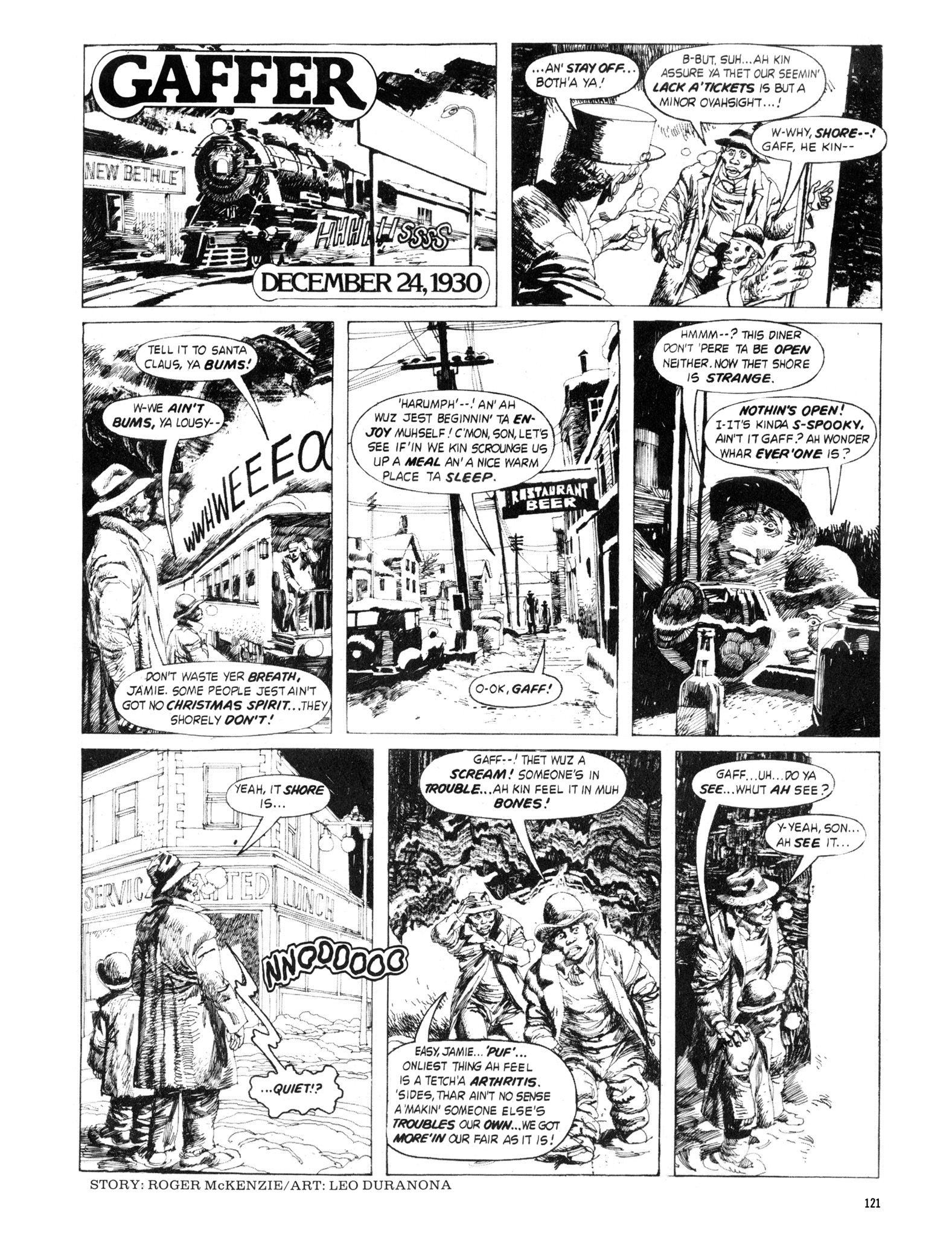 Read online Eerie Archives comic -  Issue # TPB 18 - 122