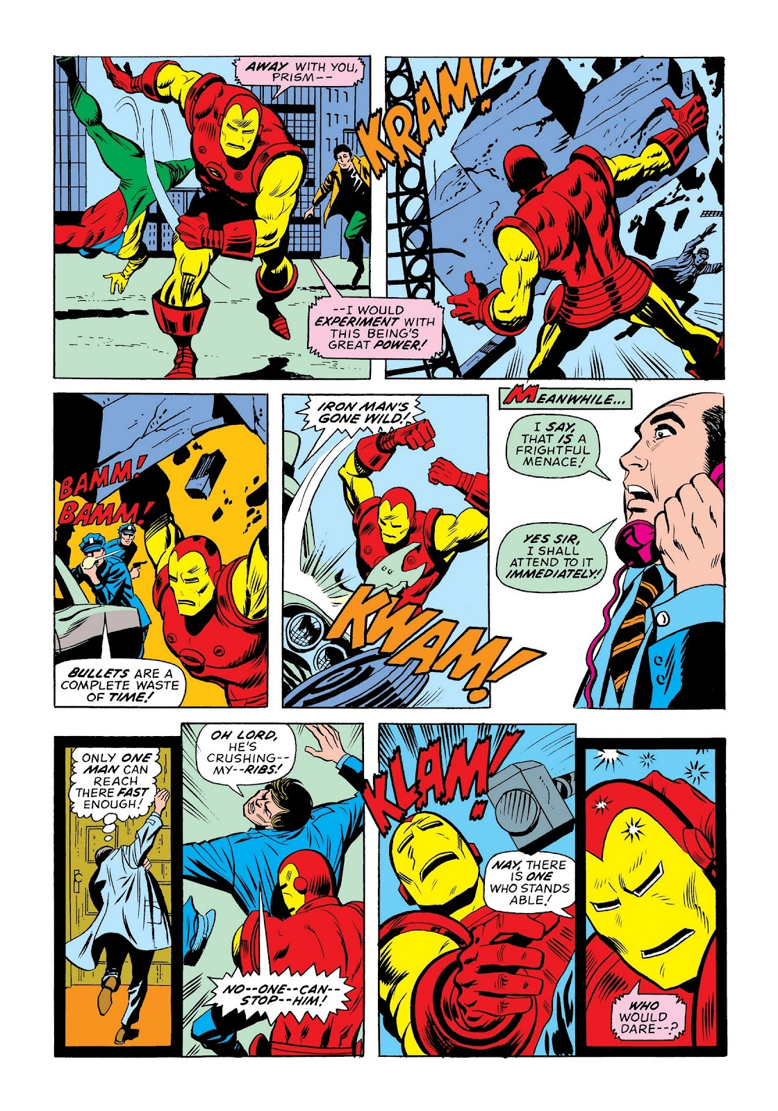 Read online Marvel Masterworks: The Invincible Iron Man comic -  Issue # TPB 9 (Part 3) - 51