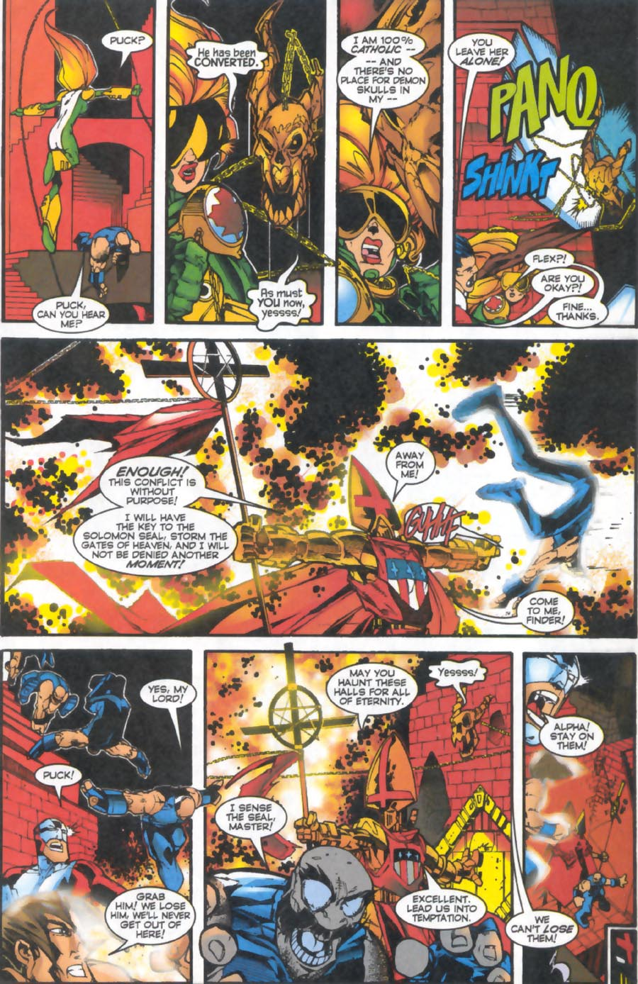 Read online Alpha Flight (1997) comic -  Issue #16 - 15