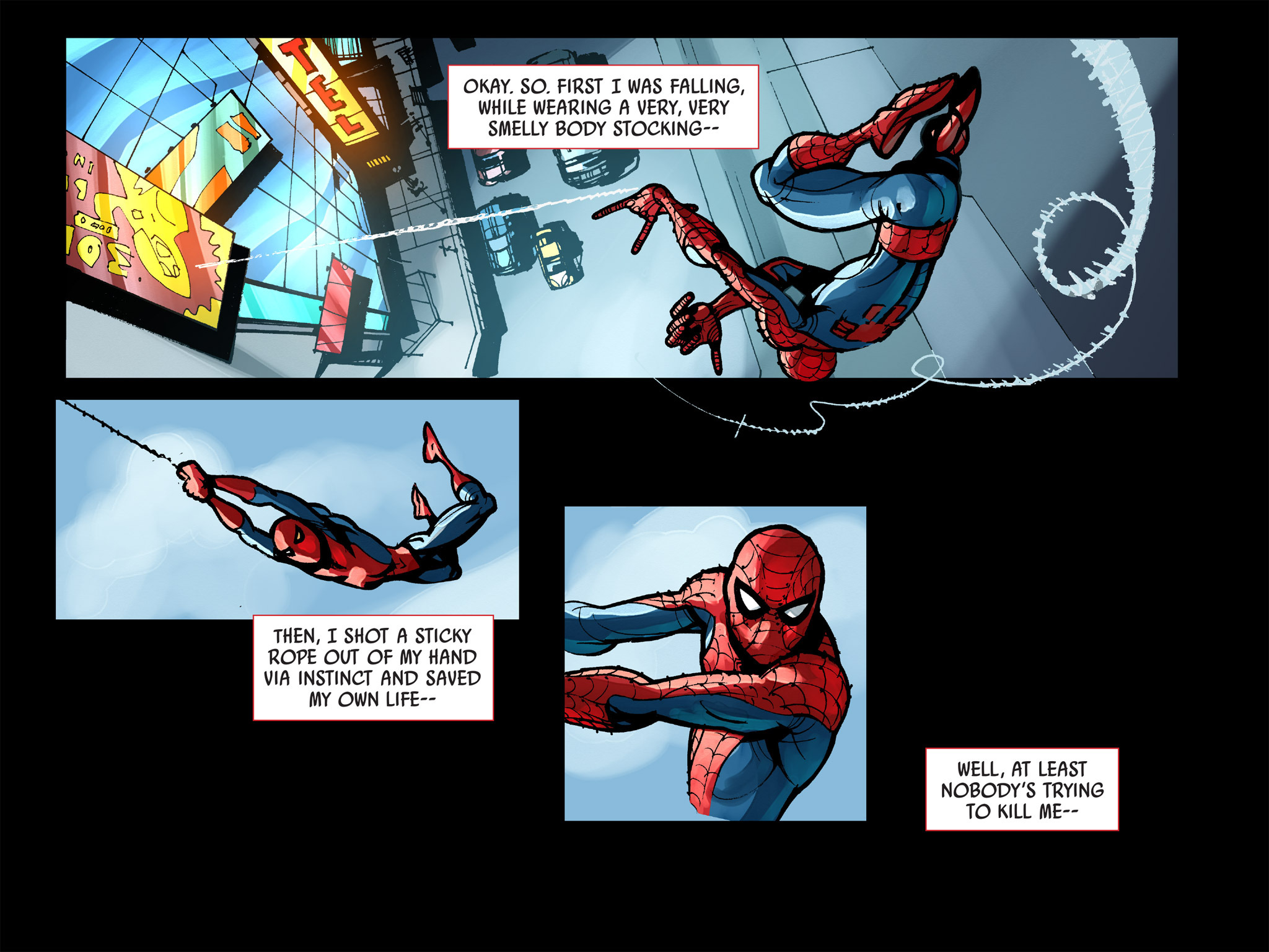 Read online Amazing Spider-Man: Who Am I? comic -  Issue # Full (Part 1) - 216